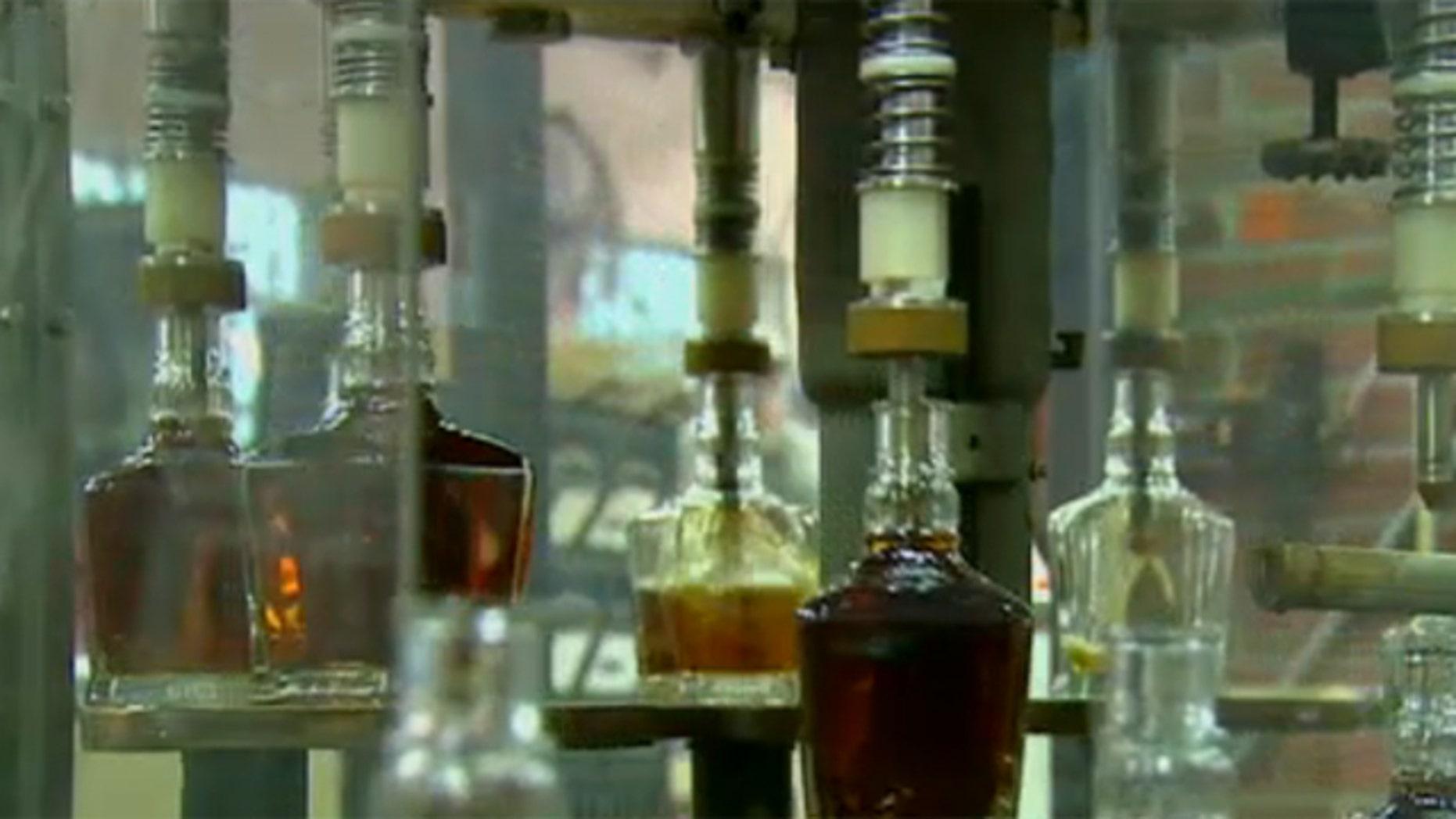 Shown here is the Jack Daniel's distillery in Lynchburg, Tenn.