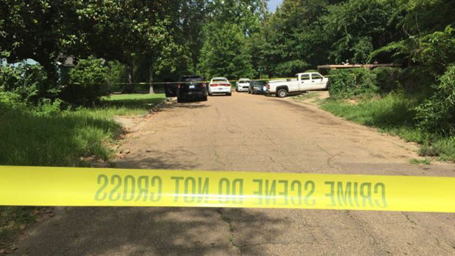Cops in Jackson, Miss., say a severed head was left on the front steps of a house.
