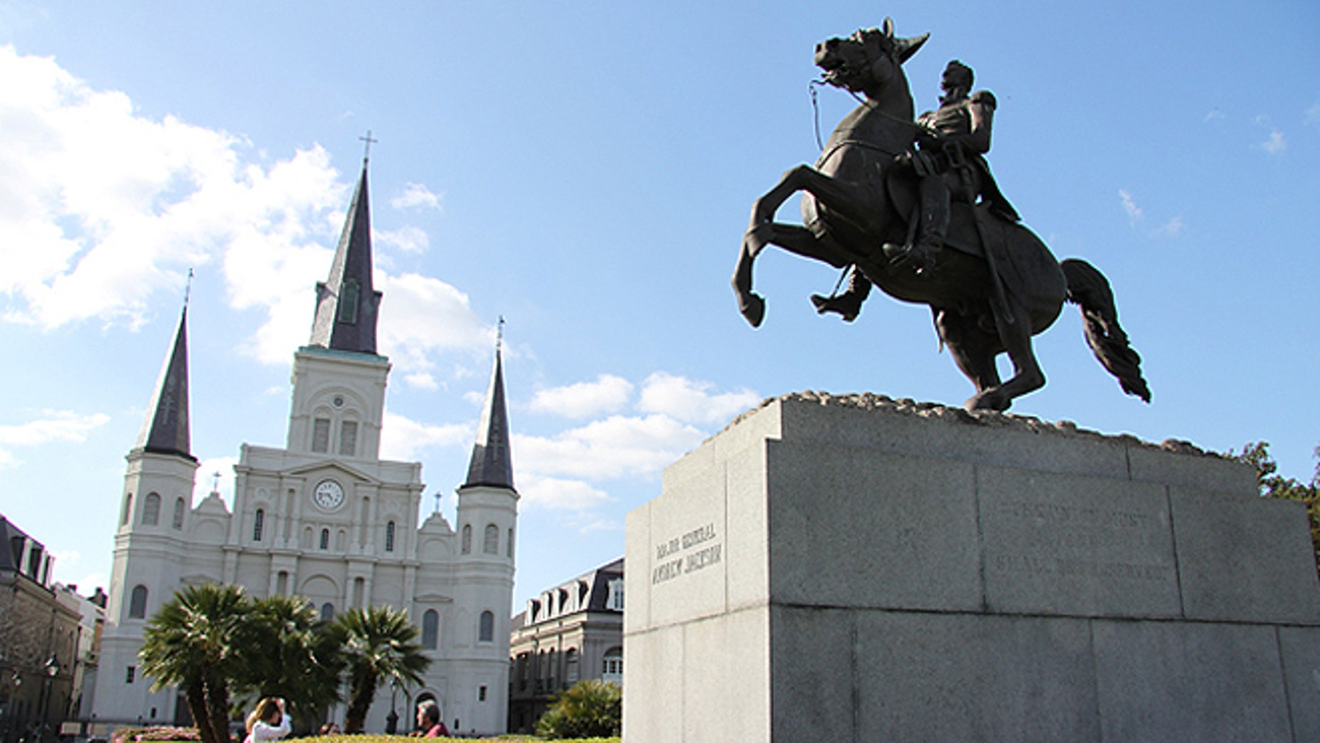 Old Hickory at Jackson Square in New Orleans