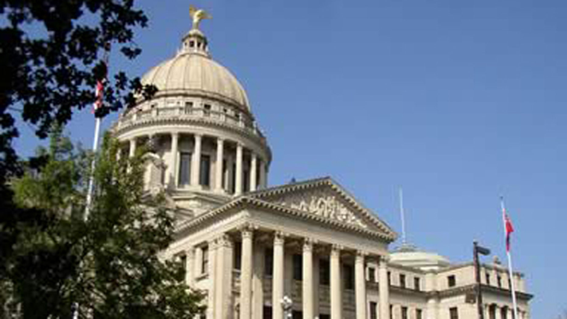Shown here is the Mississippi Capitol building in Jackson, Miss.