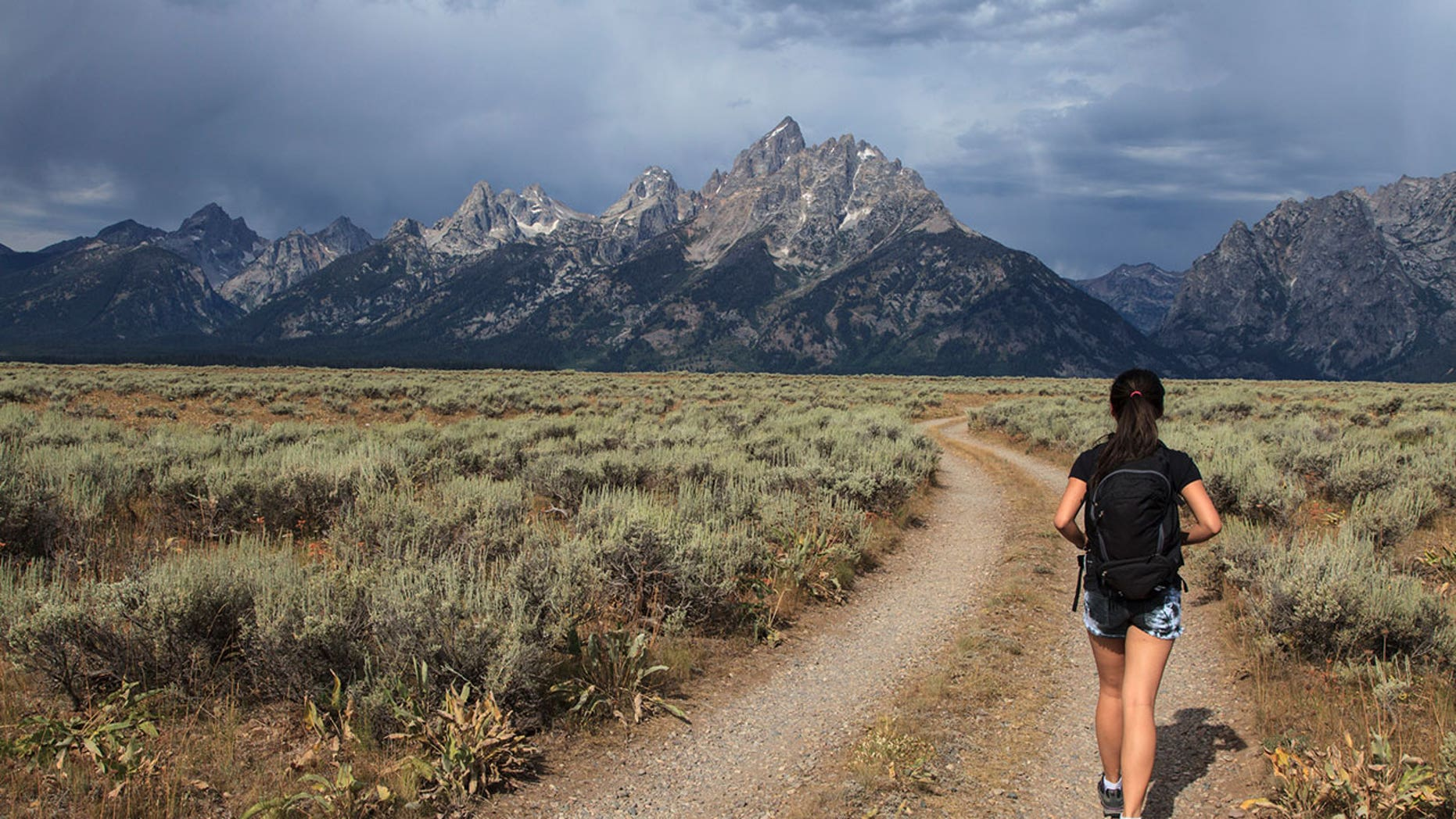 The national parks near Jackson Hole, Wyo., are mostly in the path of totality.
