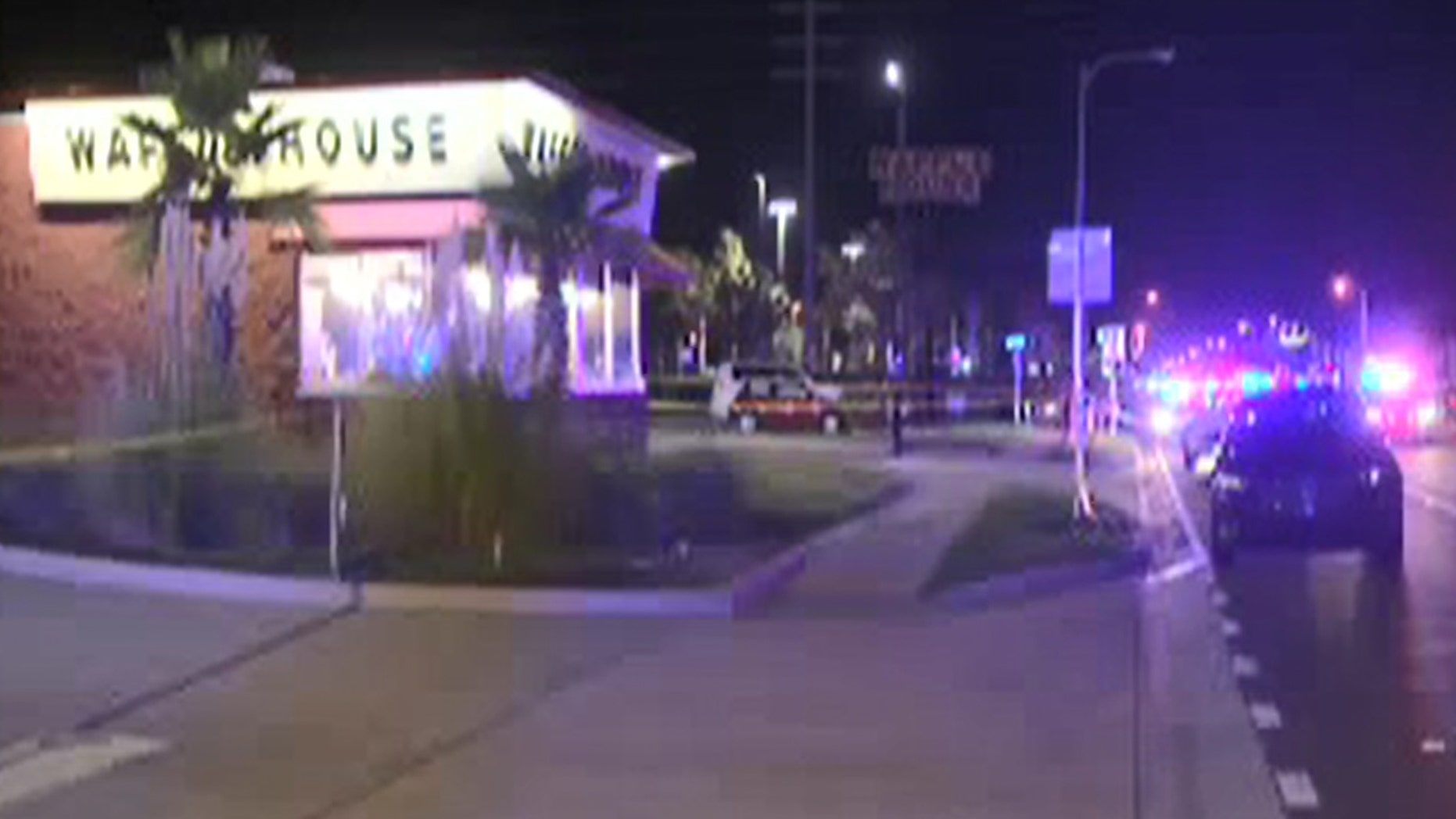 A police officer was reportedly shot Wednesday night in Jacksonville Beach, Fla., authorities say.