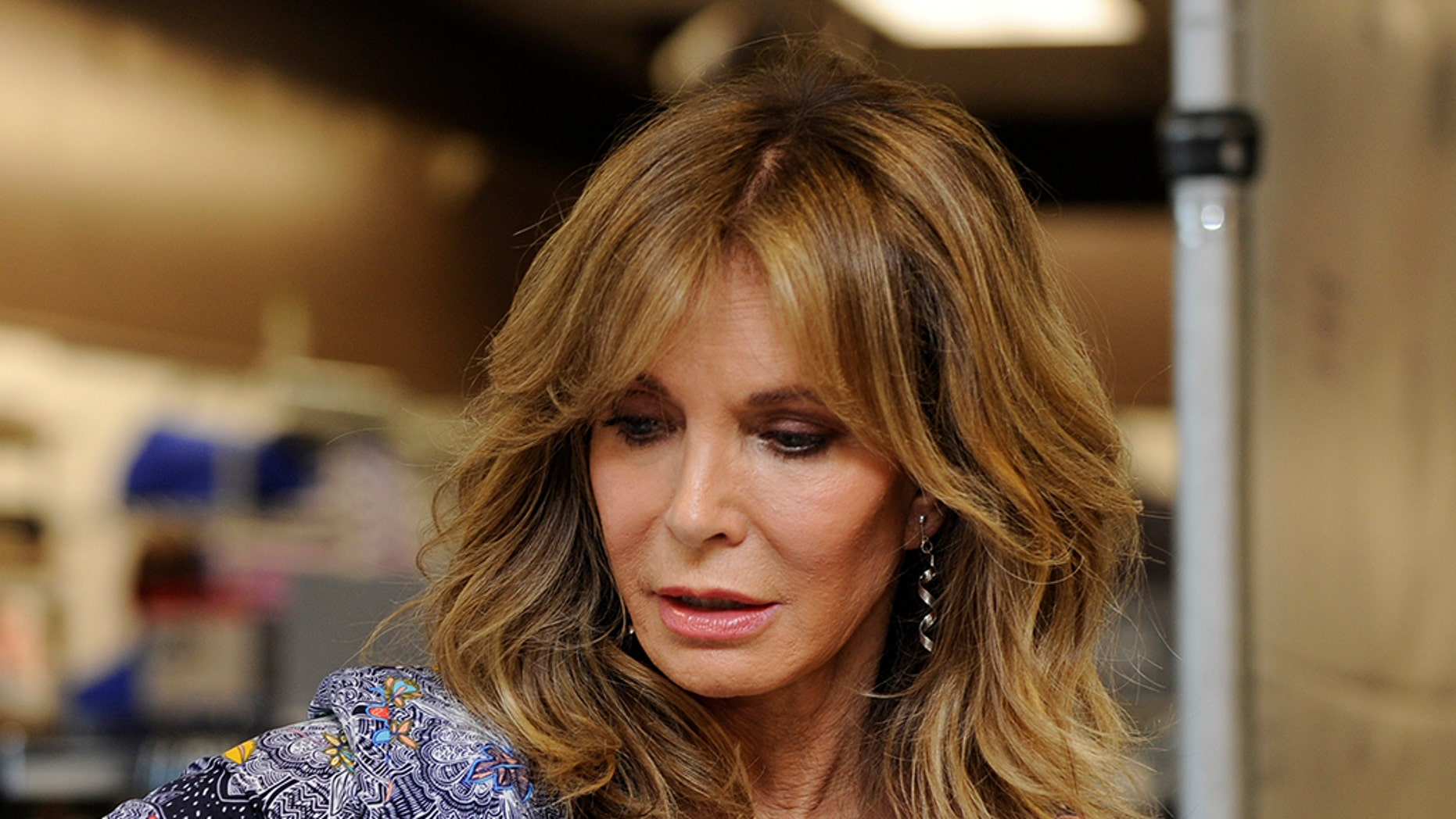 "Jaclyn Smith of ""Charlie's Angels"" fame became teary-eyed just talking about Texas."