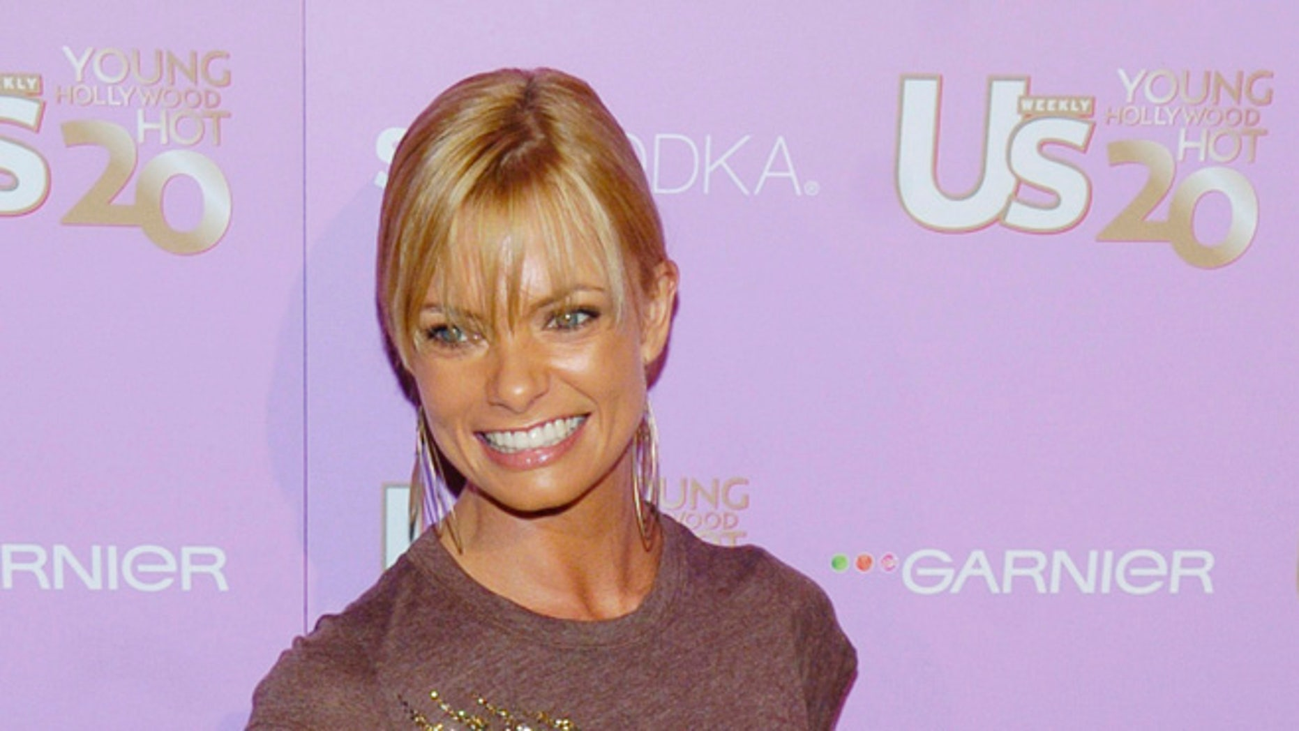 Jaime Pressly's home was burglarized.