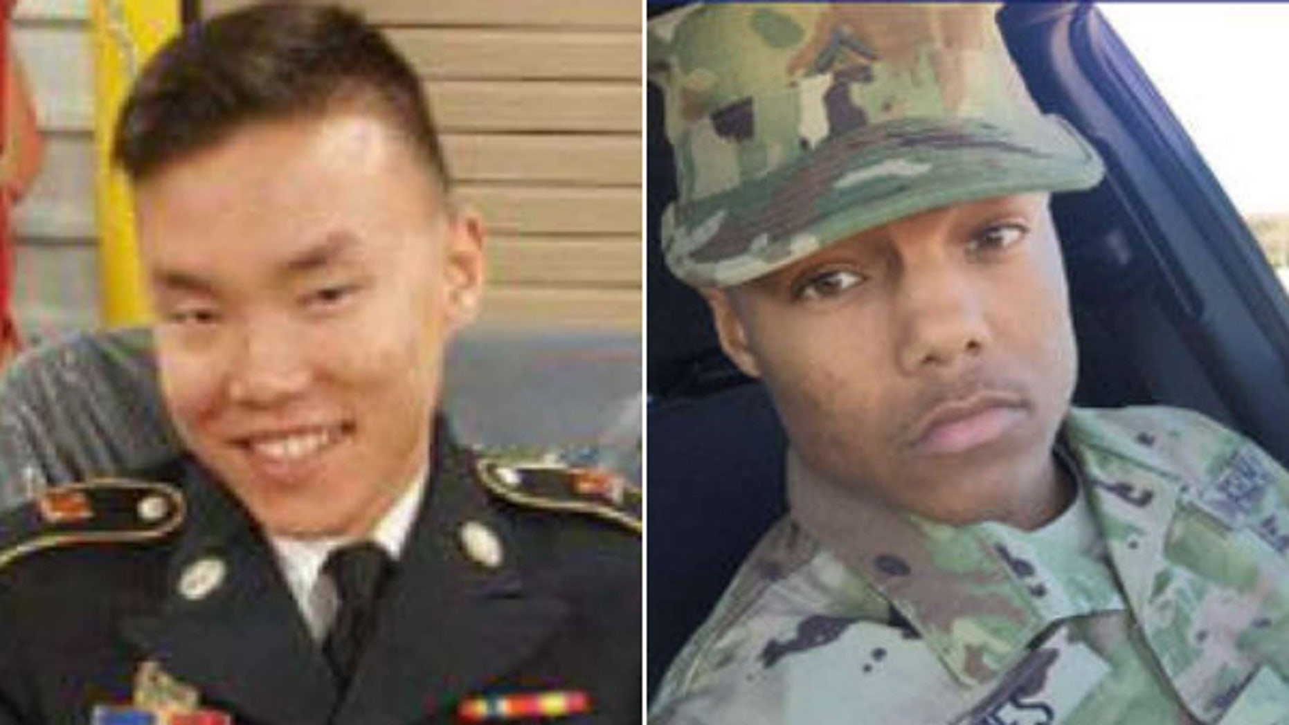 Fort Bliss soldiers Jake Obad-Mathis and Melvin Jones disappeared Dec. 19. (U.S. Army)