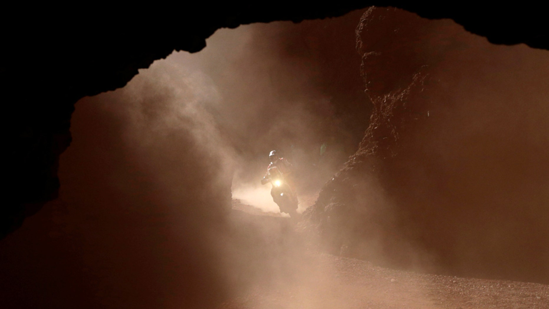 Ivan Jakes during stage 3 of the Dakar rally