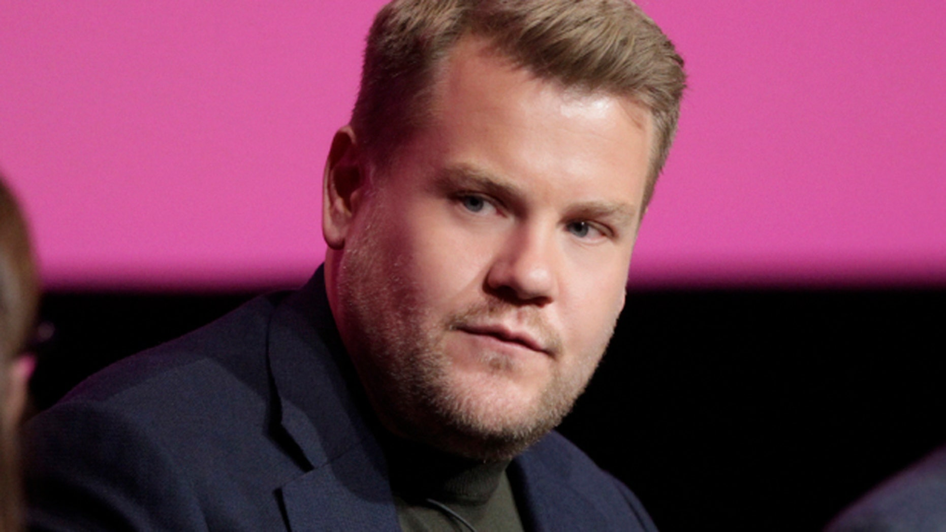 """James Corden during the """"For Your Consideration Event"""" for """"The Late Late Show Wtih James Corden"""" held at the Wolf Theatre, Saban Media Center at the Television Academy on May 2, 2017."""