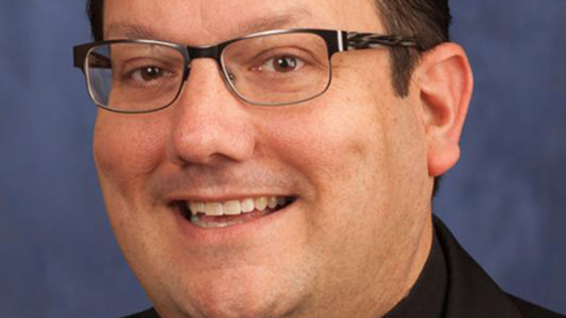 The Catholic Diocese of Columbus says Rev. James Csaszar was being investigated for 'questionable text and telephone communications with a minor.'