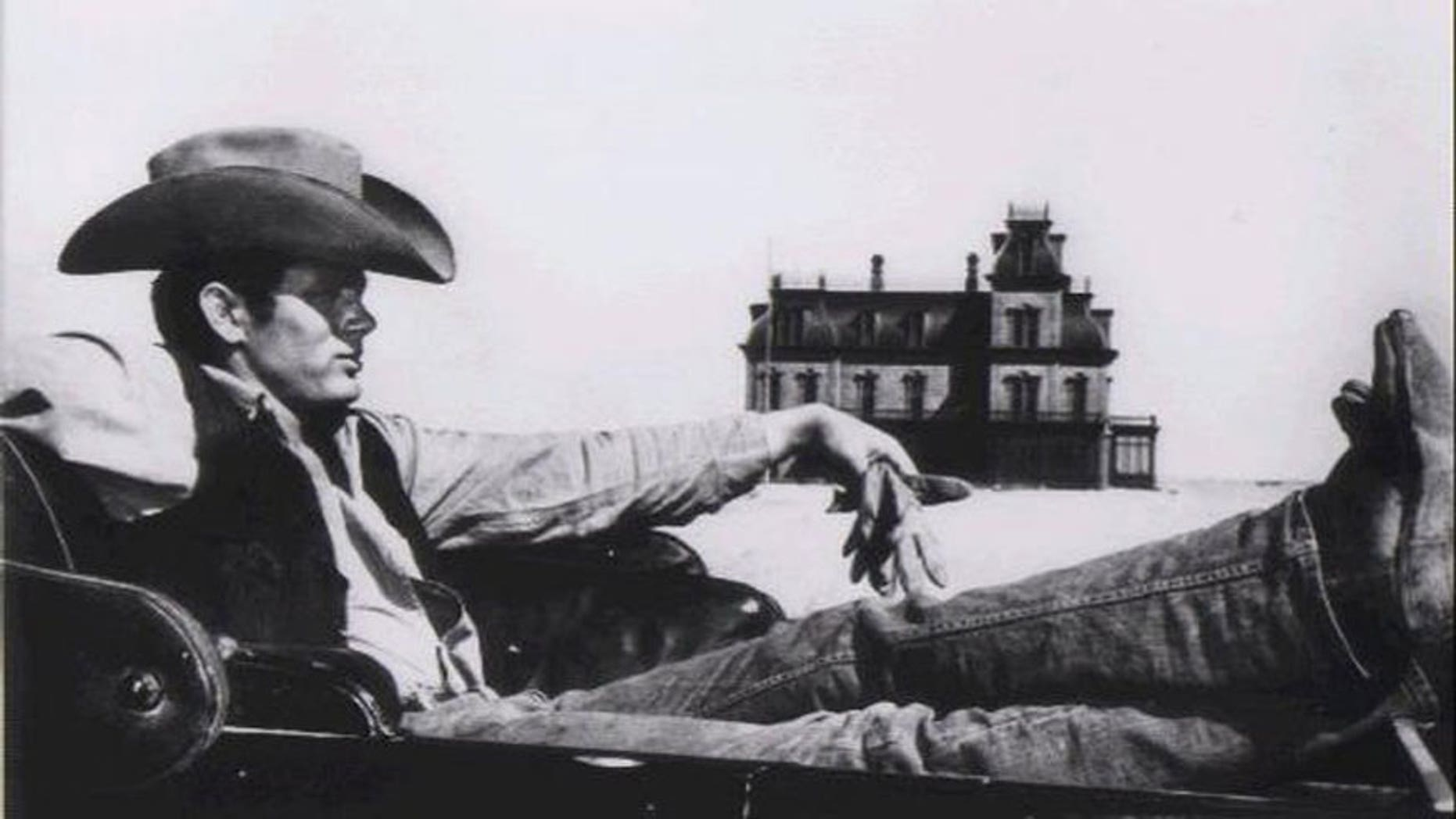 """James Dean in the film """"Giant"""""""