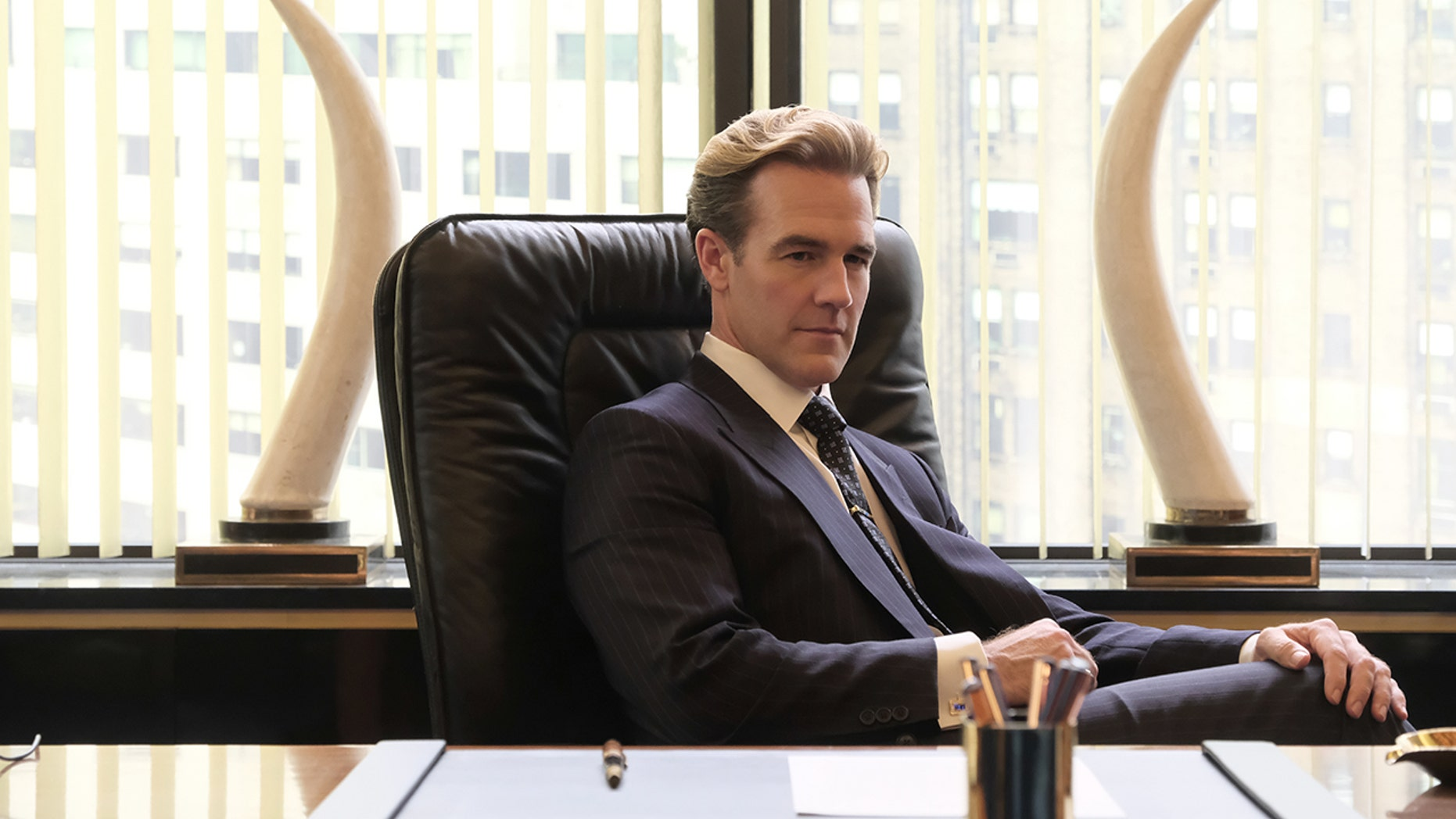 "James Van Der Beek plays Matt Bromley in the upcoming series ""Pose"" on FX."