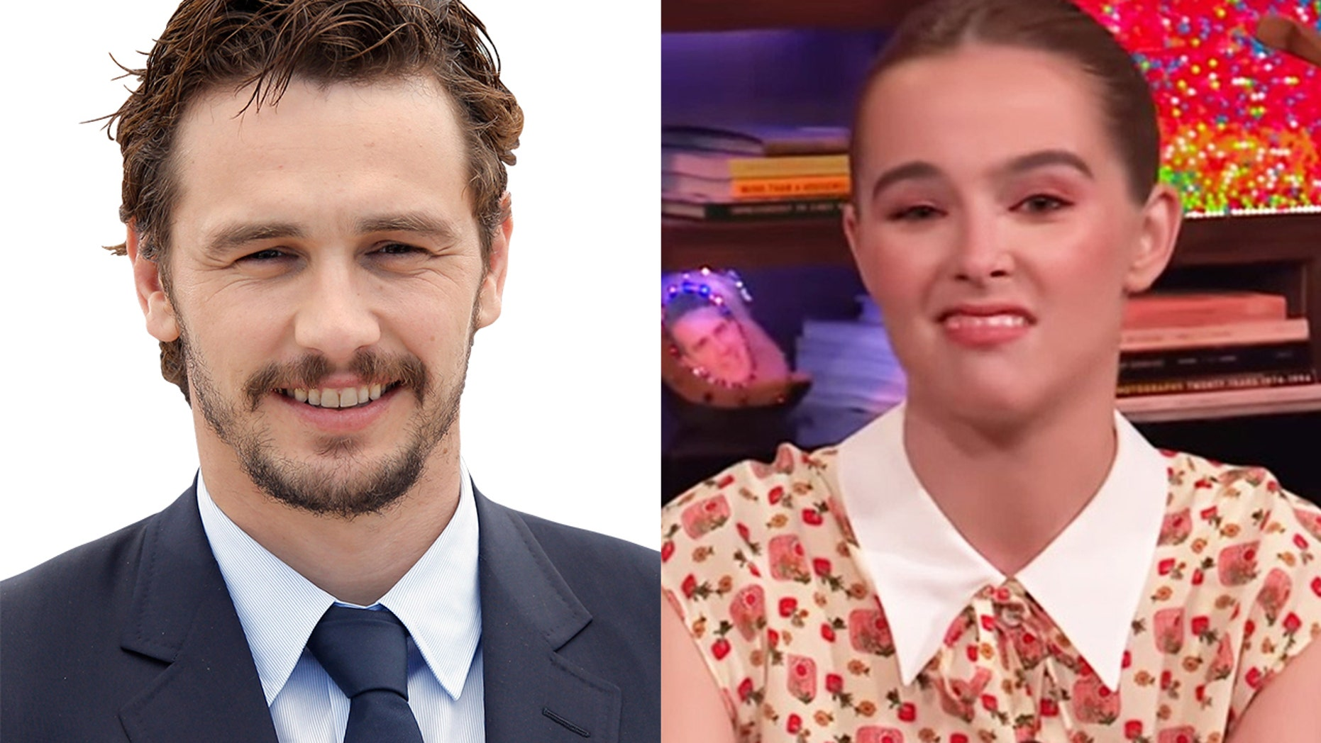 """Zoey Deutch discussed her former co-star James Franco's kissing abilities on """"Watch What Happens Live."""""""