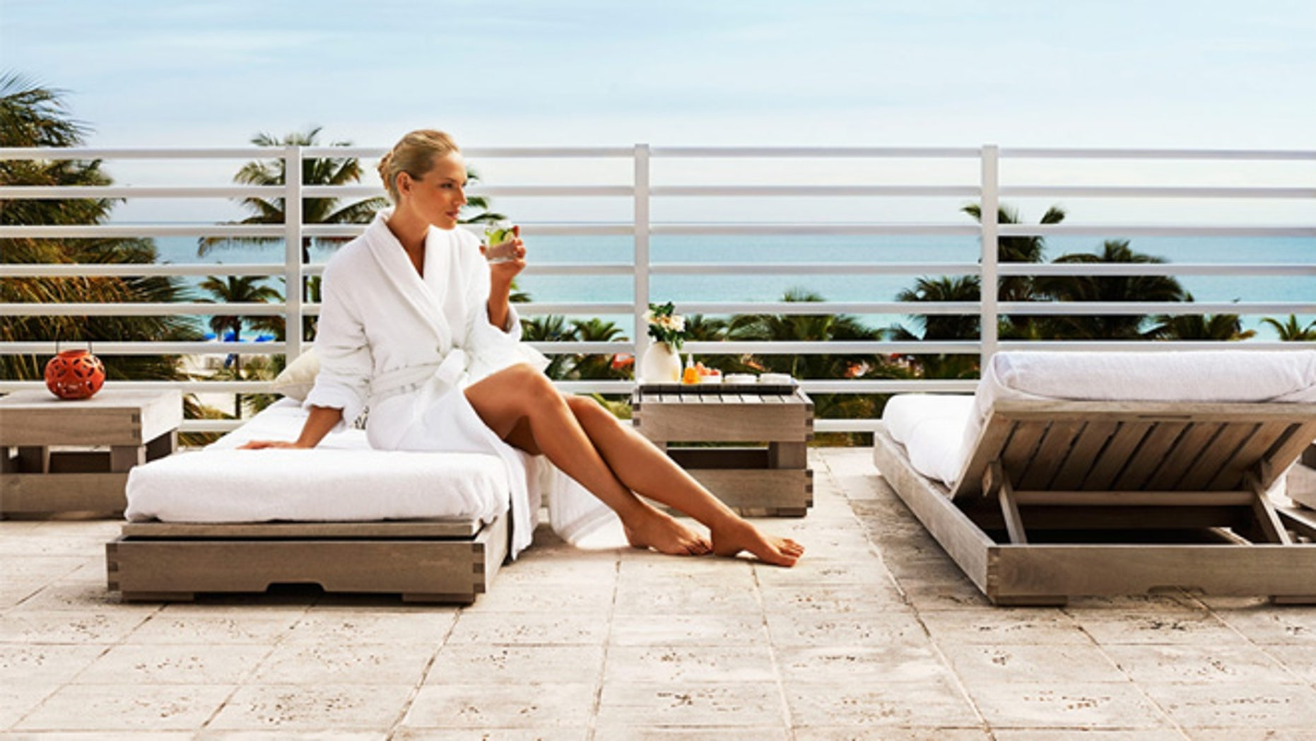 The James Royal Palm has the Pocket Assistant, a downloadable app that enables guests to book their reservation, extend their stay, check in and check out, schedule a spa appointment and more.