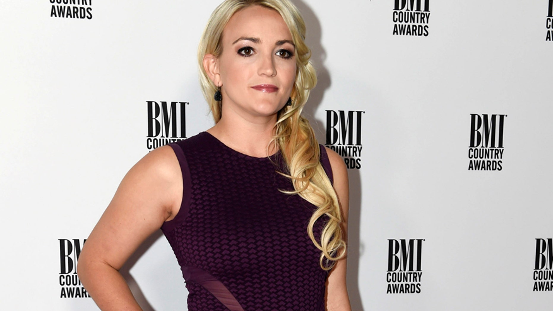 This Nov. 1, 2016 file photo shows Jamie Lynn Spears at 64th Annual BMI Country Awards in Nashville, Tenn.