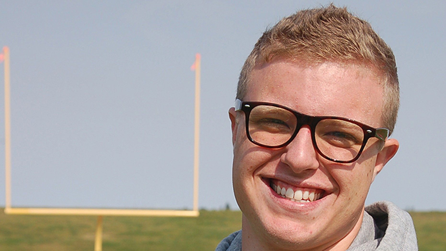 Sept. 11, 2012: Jamie Kuntz says he was kicked of the North Dakota State College of Science football team for being gay. School officials say he was dismissed from the team for lying to a coach. (AP)