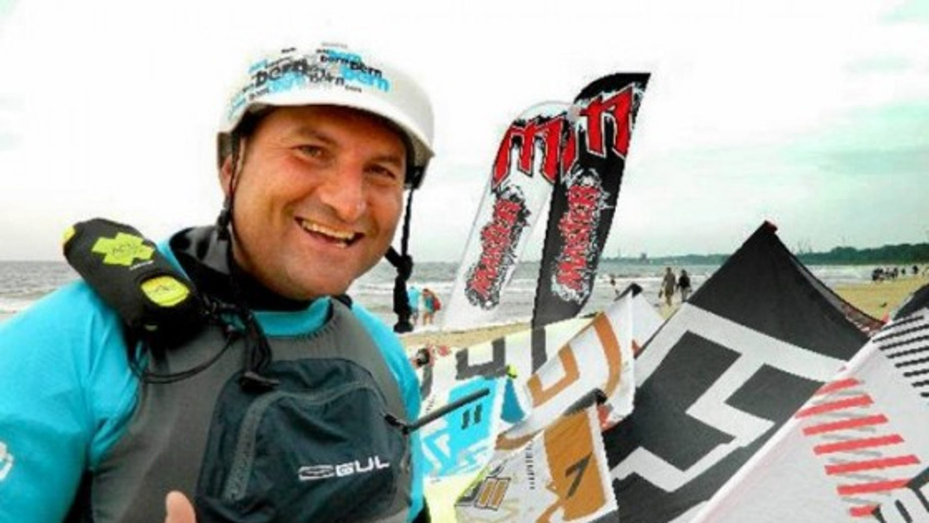 Polish Kiteboarder Jan Lisewski fought off sharks, surviving an attempt to cross the Red Sea.