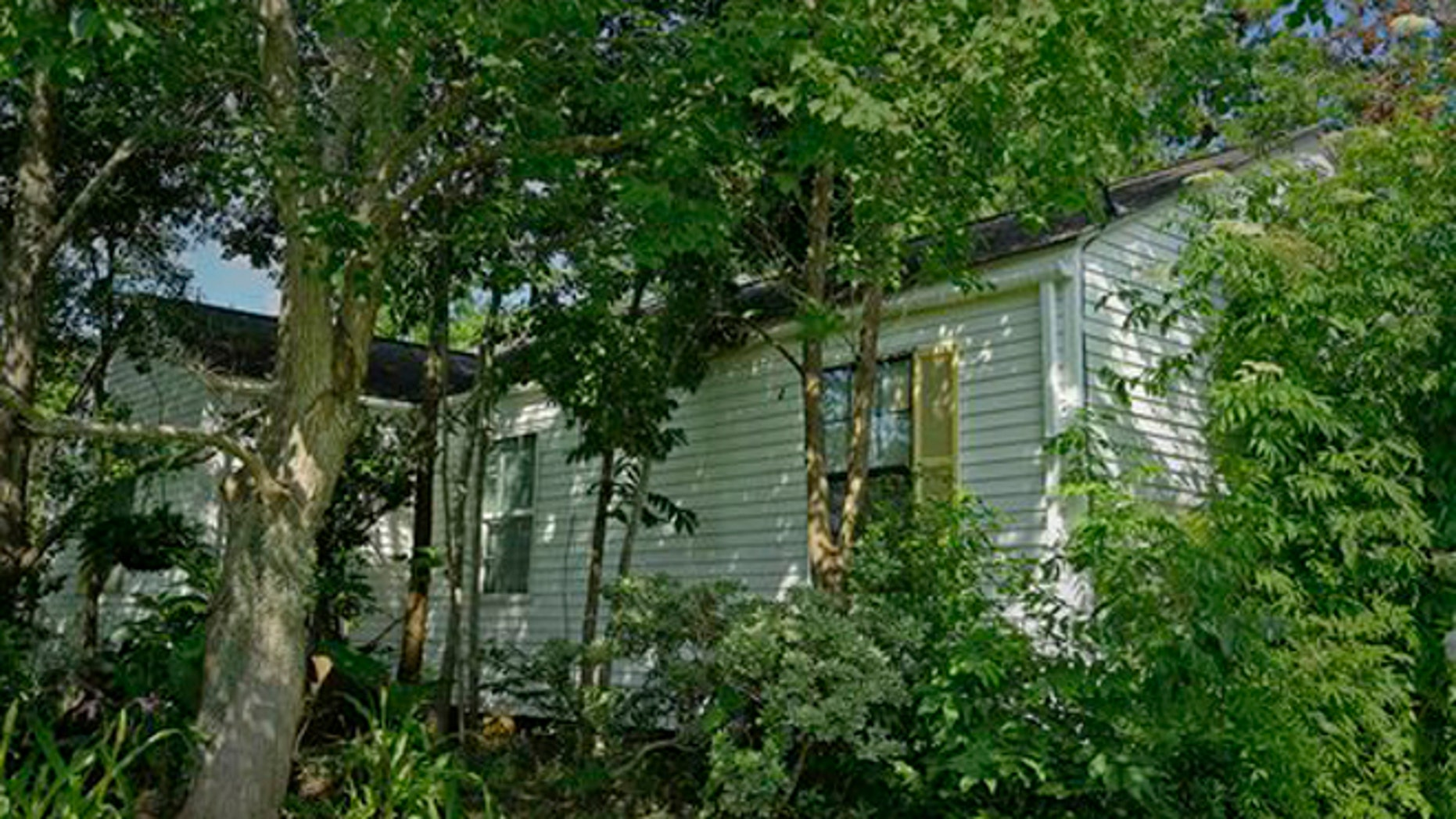 Musician Janis Joplin's childhood home on 32nd Street in Port Arthur, Texas is seen in an Monday, June 6, 2016 photo.