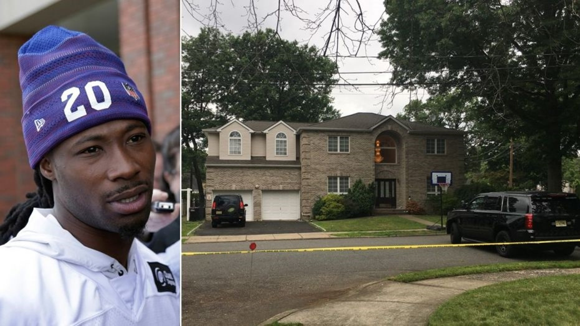 Janoris Jenkins has been living at the home, located about 10 miles north of Metlife Stadium, for two years.