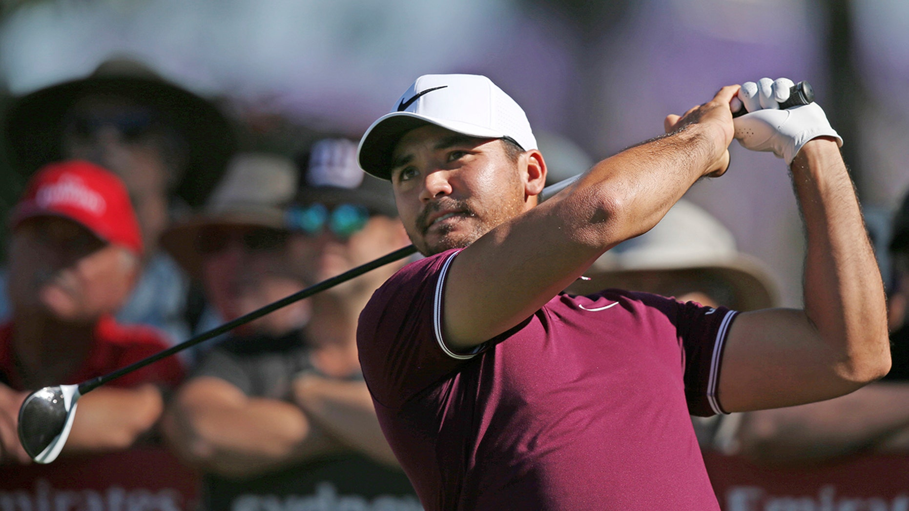 Jason Day's wife revealed on Instagram that she suffered a miscarriage in November.