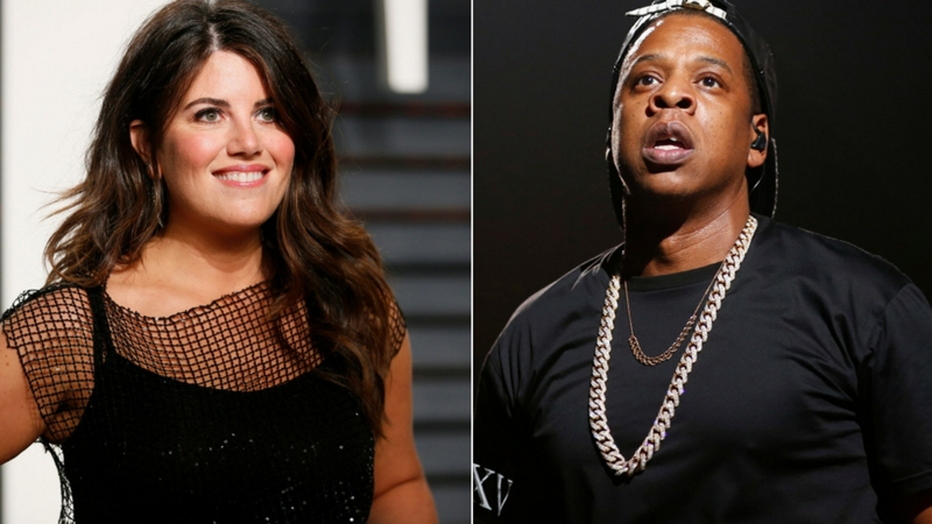 """Monica Lewinsky praised Jay-Z for opening up about his relationship in his new album """"4:44."""" (Reuters)"""