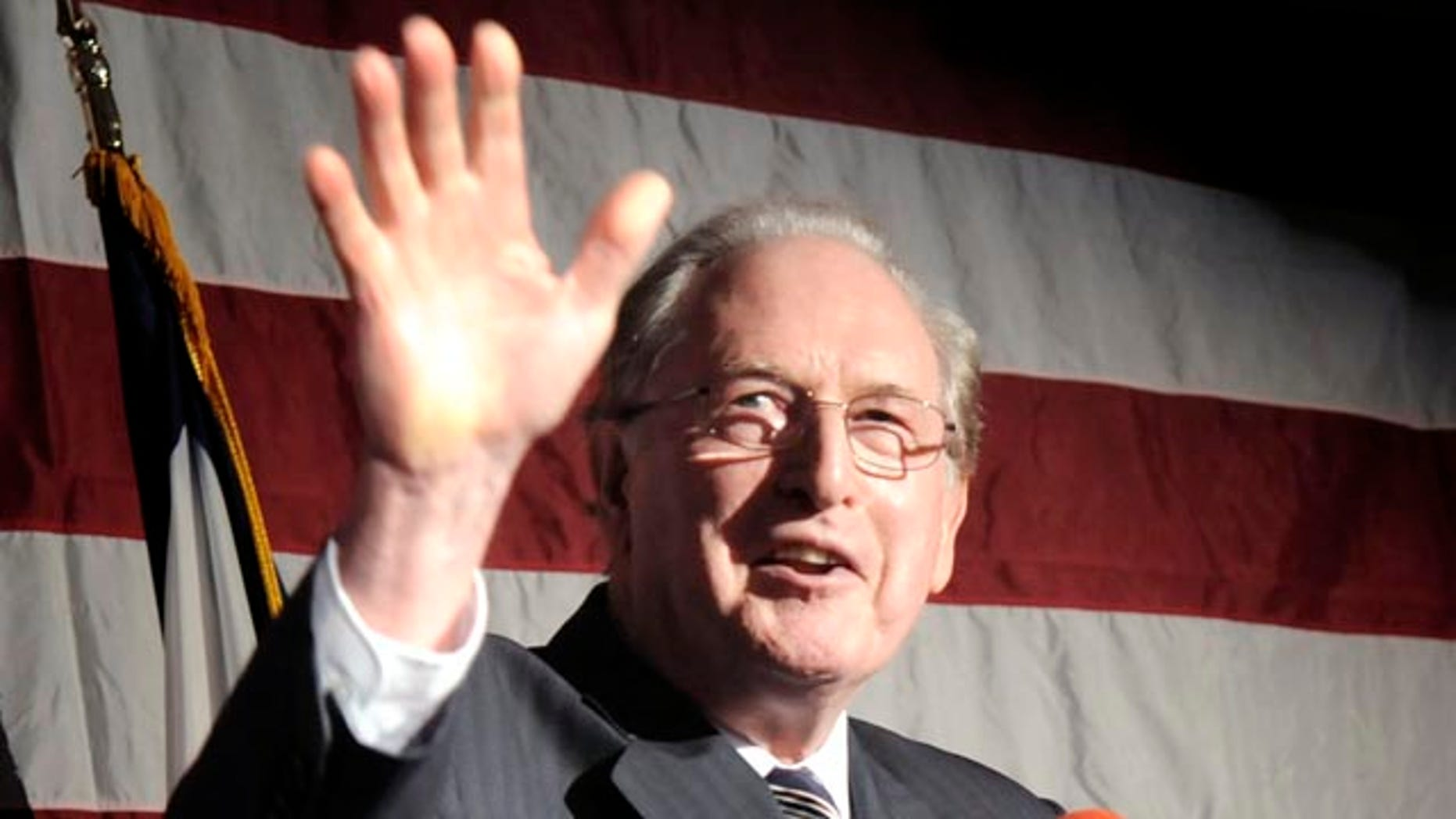 Sen. Jay Rockefeller shown here Nov. 2 said Nov. 17 that he wishes the FCC would shut down Fox News and MSNBC.