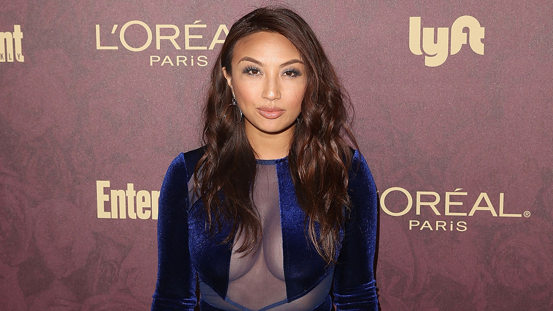 LOS ANGELES, CA - SEPTEMBER 15:  Jeannie Mai attends FIJI Water at Entertainment Weekly Pre-Emmy Party on September 15, 2018 in Los Angeles, California.  (Photo by Jesse Grant/Getty Images for FIJI Water )