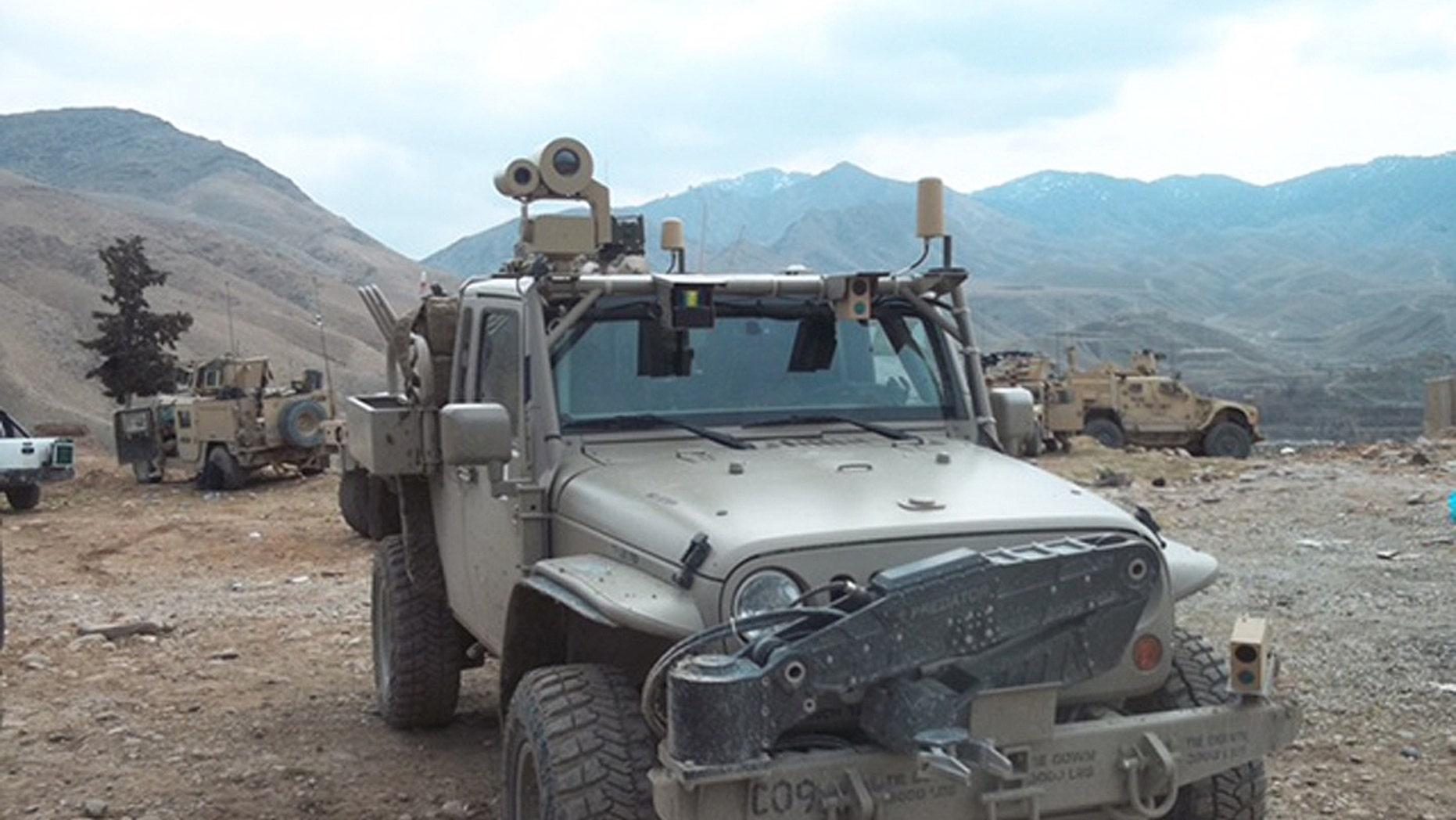 Commando Jeep (Photo: Hendrick Dynamics)