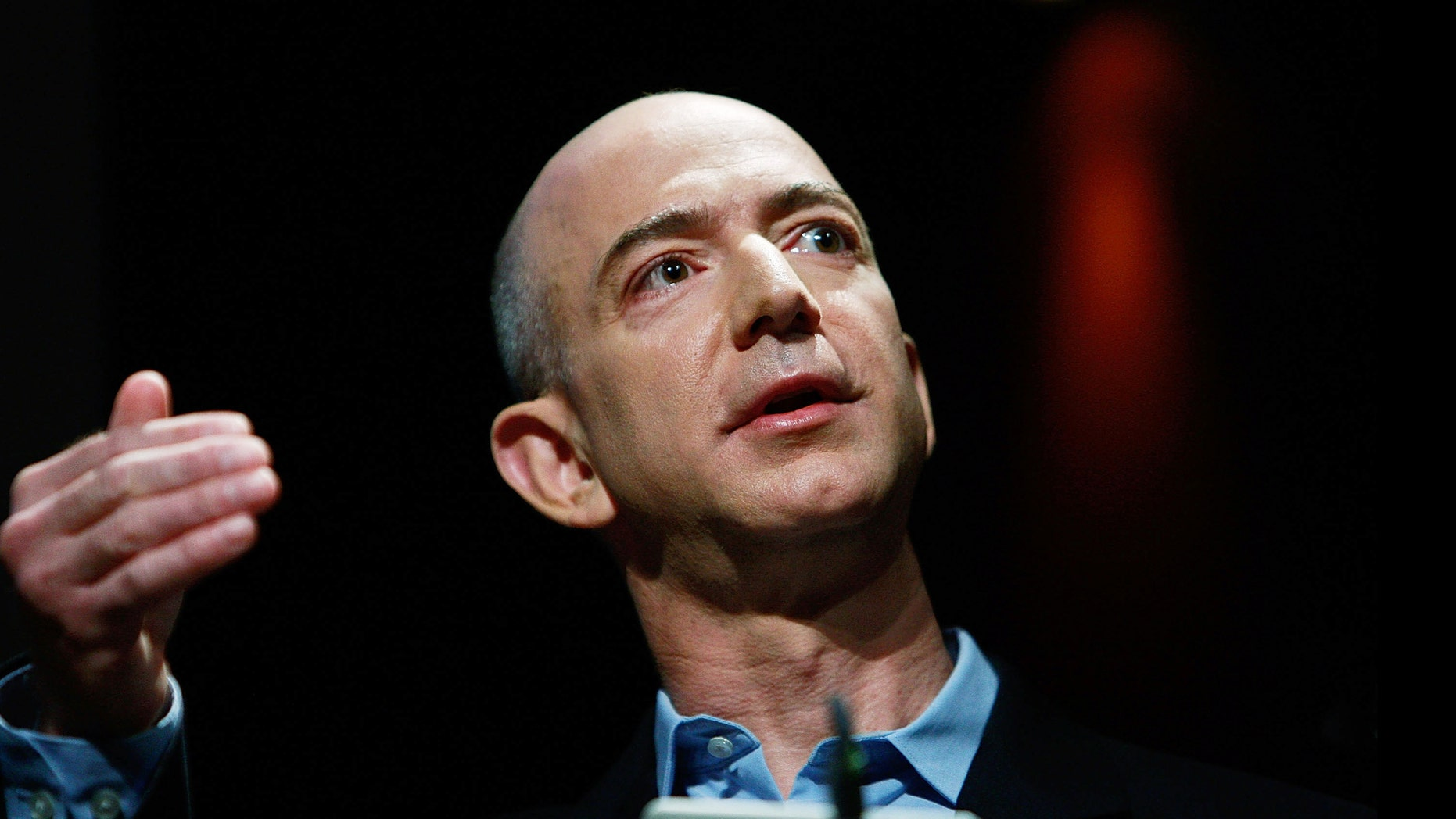 Amazon.com founder and CEO Jeffrey P. Bezos