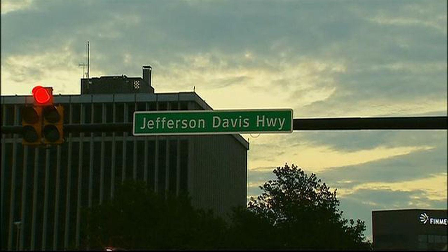 Beginning Jan. 1 next year, Jefferson Davis Highway in Alexandria, Va., will be known as Richmond Highway.