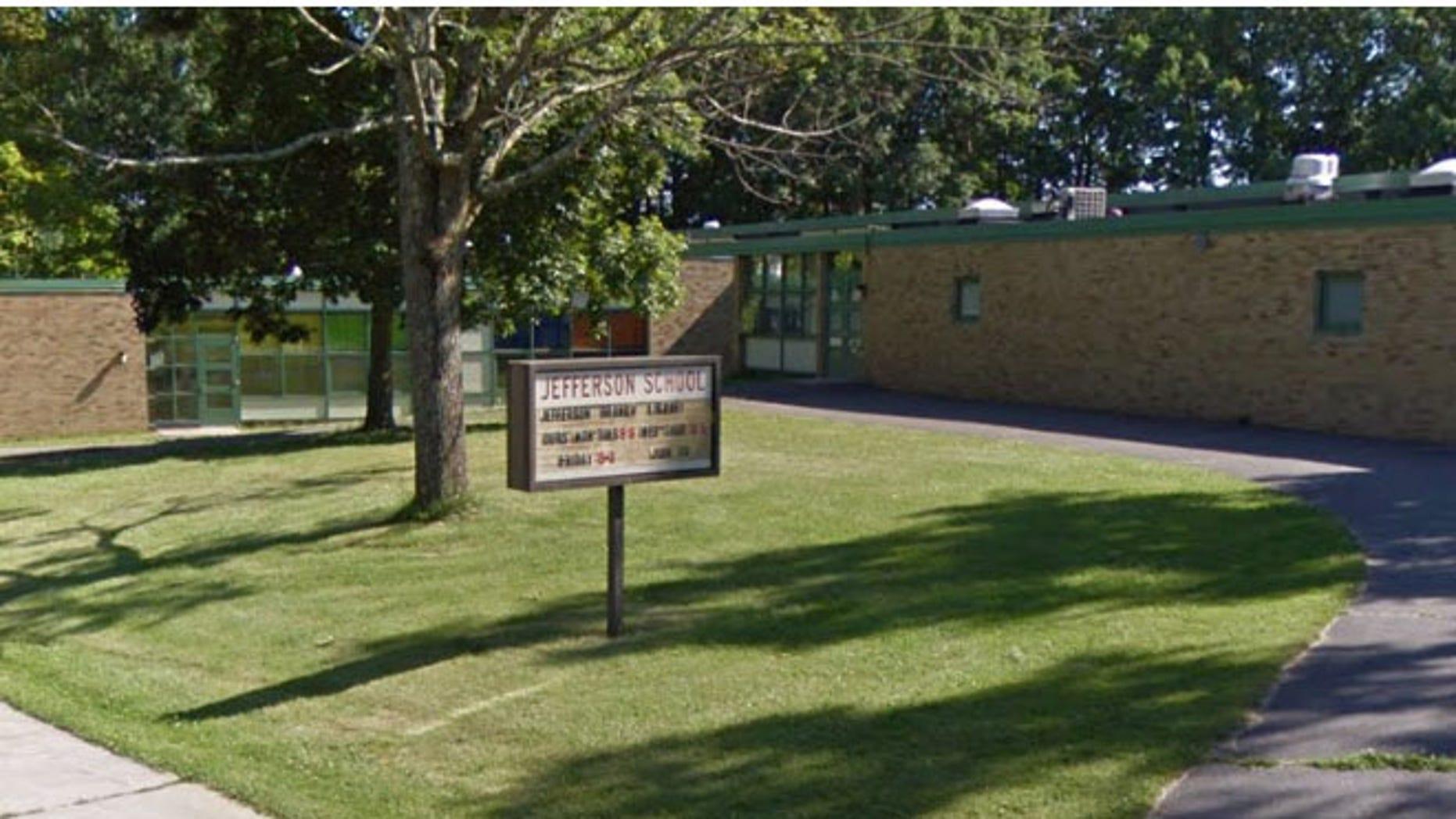 Jefferson Elementary School in New Britain.