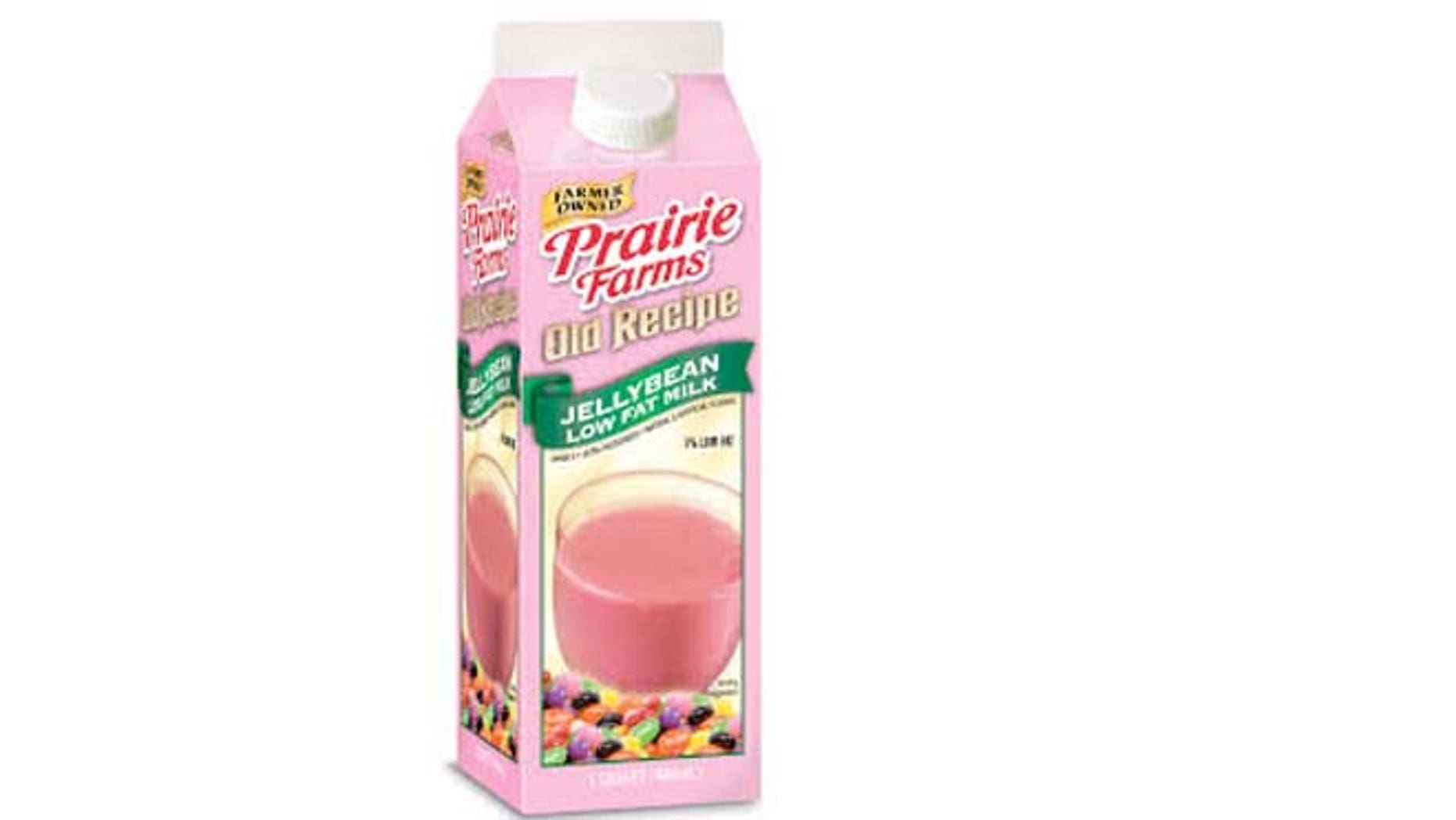 Prairie Farms Dairy has a new milk flavored like jellybeans for Easter.
