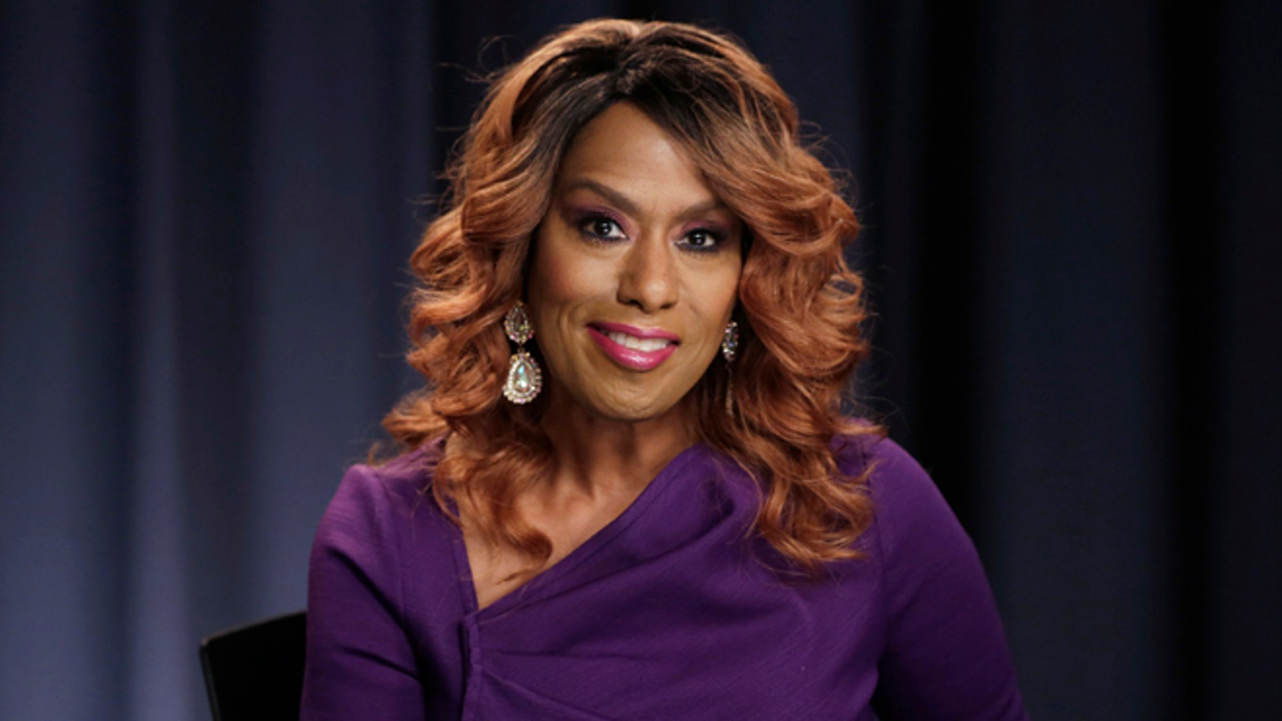 Actress and singer Jennifer Holliday poses for a photo in New York.