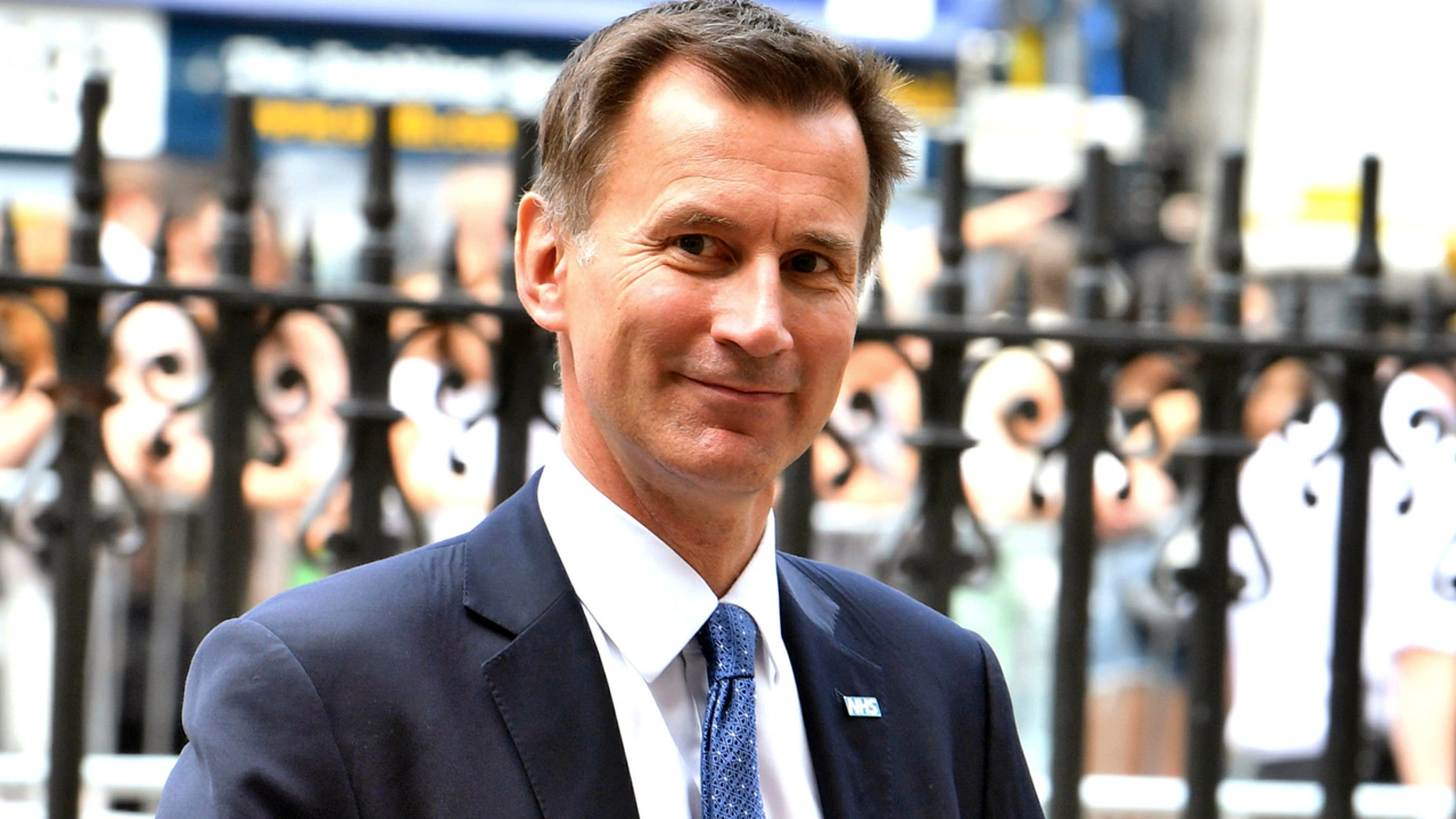New British Foreign Secretary Jeremy Hunt supported the 'Remain' side of the 2016 UK referendum to leave the European Union.