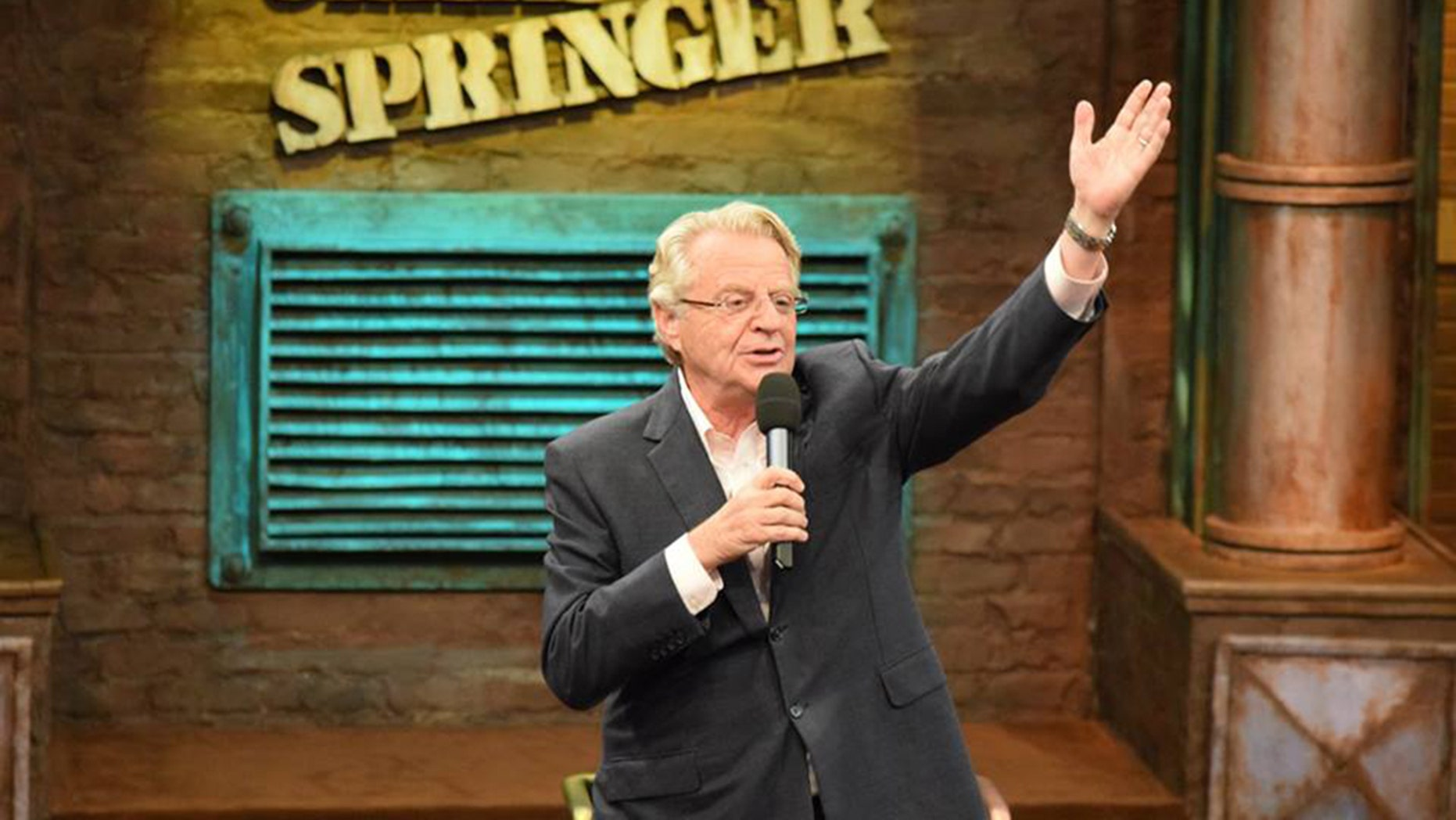 "Jerry Springer discusses reports that ""The Jerry Springer Show"" is ending."