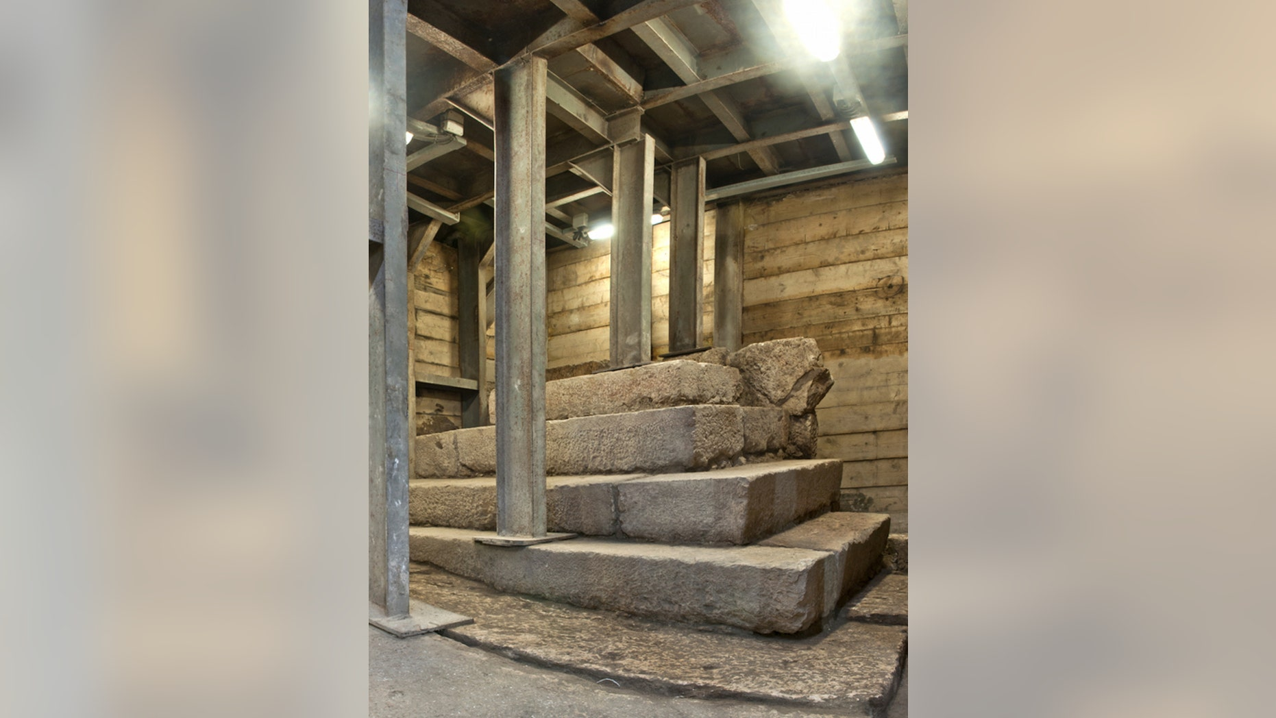 A mysterious podium used by itinerant street preachers or perhaps as a primitive lost-and-found has been unearthed in the ancient city of Jerusalem. The podium is nearly 2,000 years old.