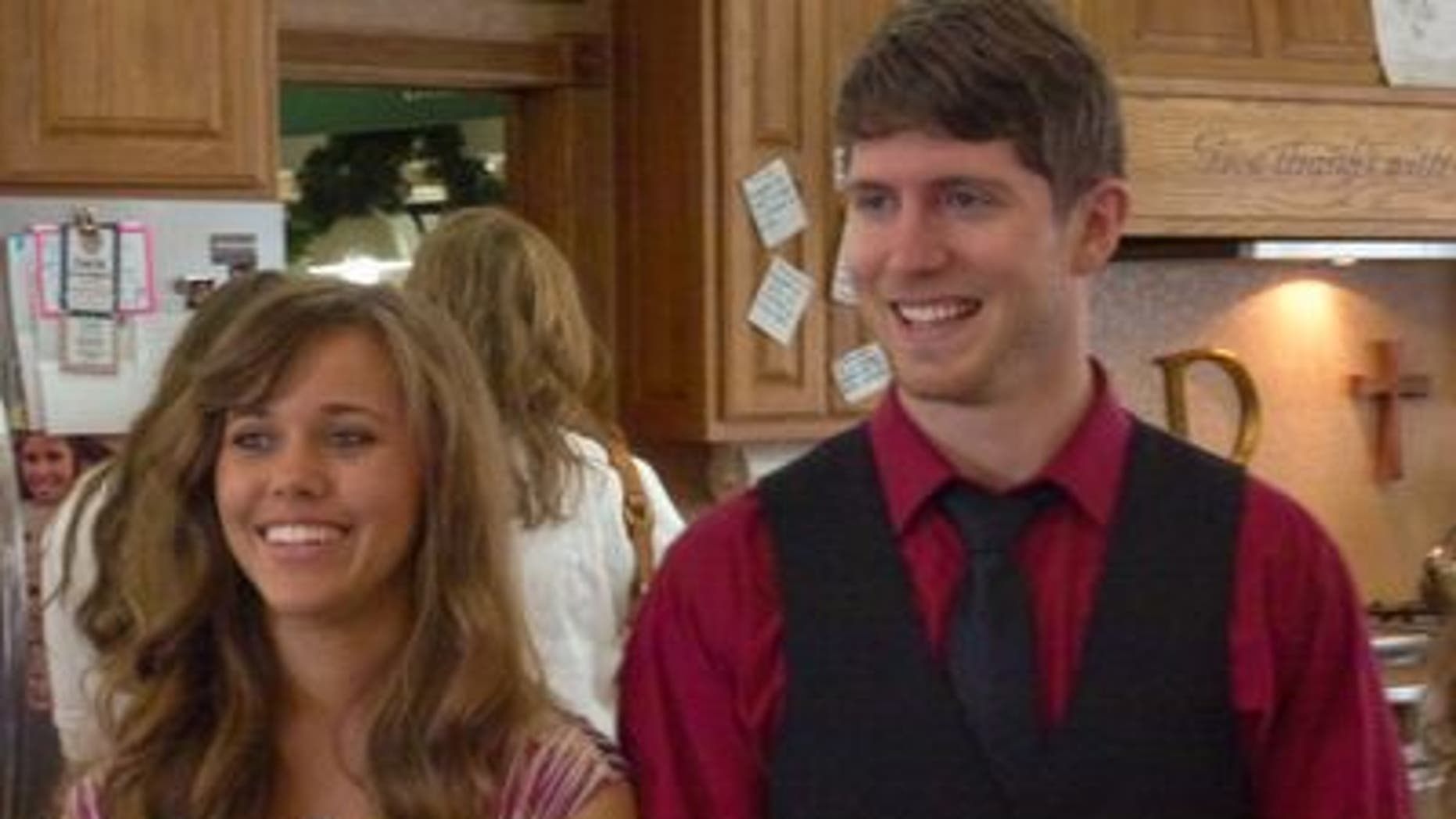 "Jessa Duggar and Ben Seewald in ""19 Kids and Counting."""