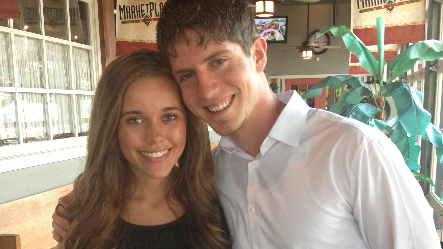 Jessa Duggar and her boyfriend Ben Seewald are shown.