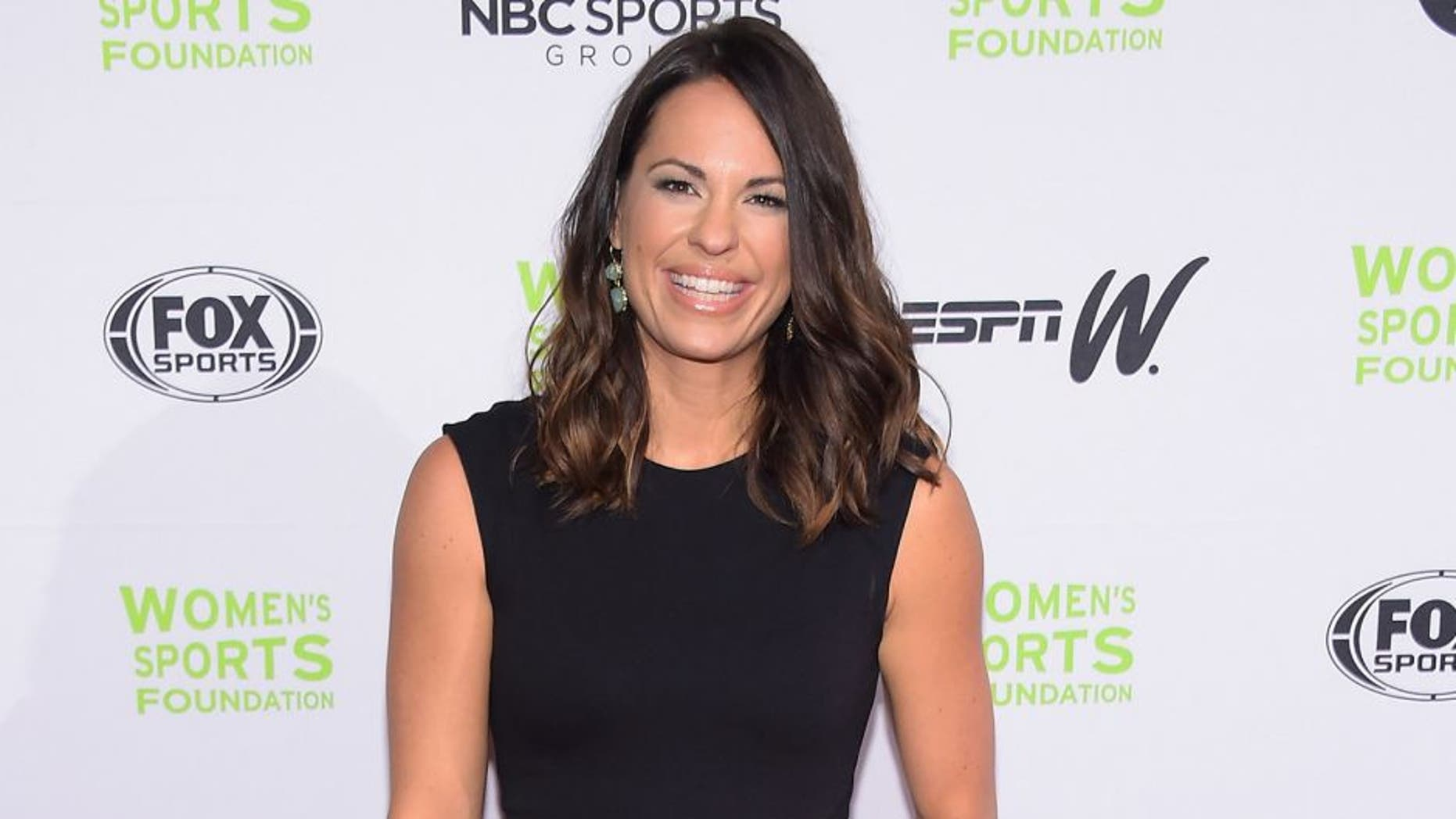 NEW YORK, NY - OCTOBER 15: Softbal player Jessica Mendoza attends the Women's Sports Foundation's 35th Annual Salute to Women In Sports awards, a celebration and a fundraiser to ensure more girls and women have access to sports, at Cipriani Wall Street on October 15, 2014 in New York City. (Photo by Michael Loccisano/Getty Images)