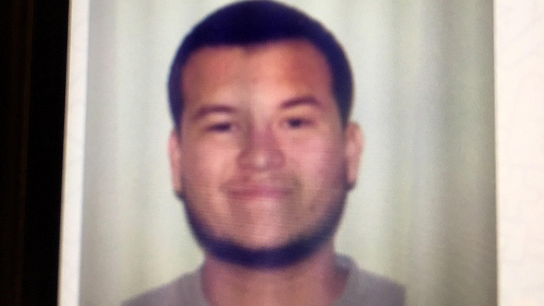 Jesus Campos, a Mandalay Bay security guard who was shot by Las Vegas gunman Stephen Paddock.