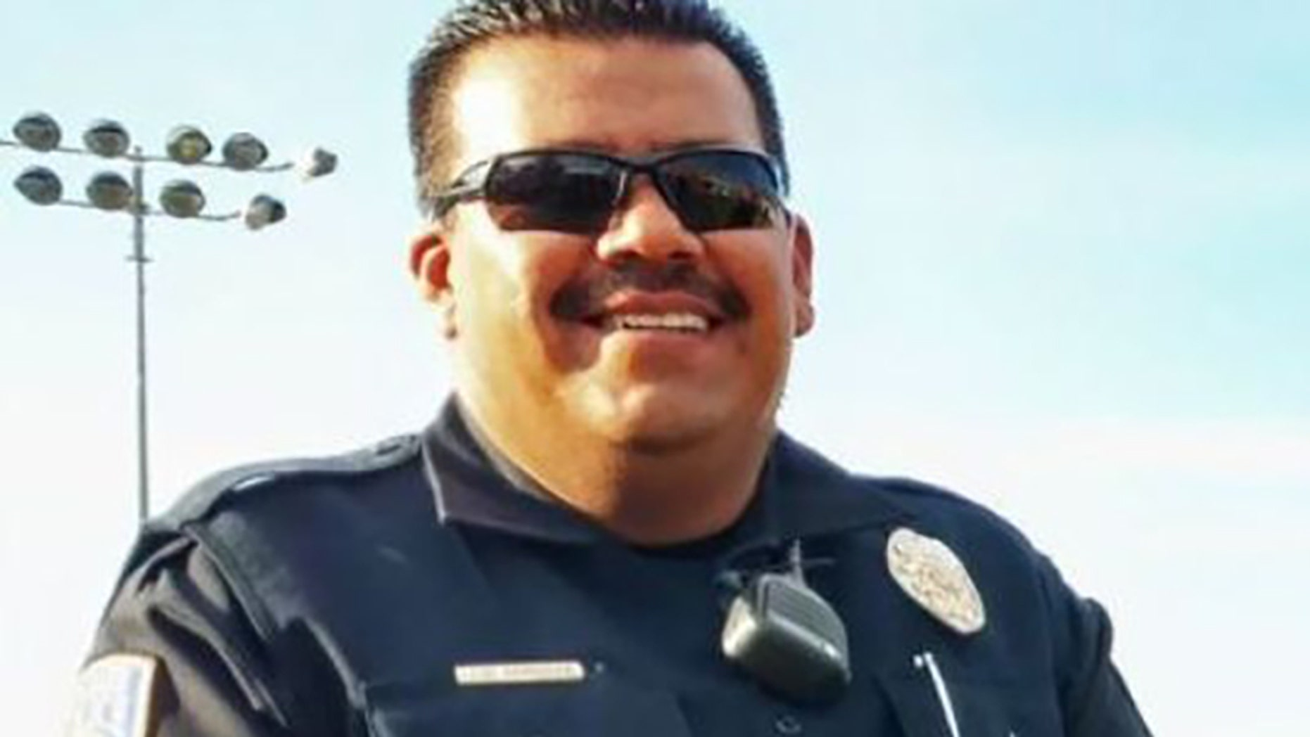 """Nogales Police Officer Jesus """"Chuy"""" Cordova was killed Friday trying to pull over an armed carjacker."""