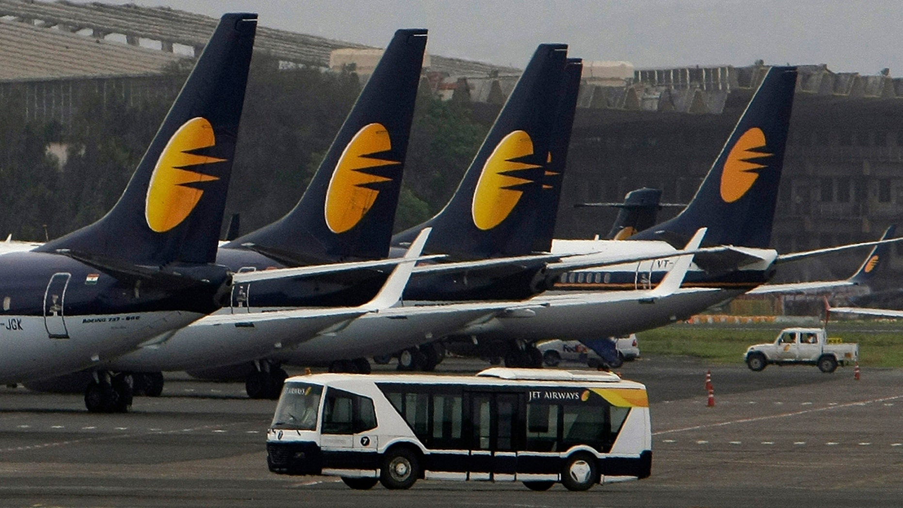 Dozens of passengers aboard the Jet Airways aircraft required medical assistance following the flight.