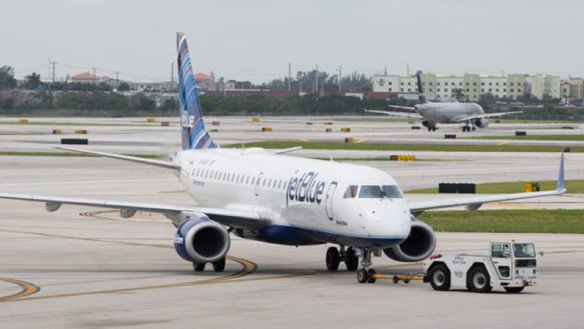 JetBlue's power outage, which affected one of the carrier's data centers, had a ripple effect Thursday from Boston and New York to Los Angeles.