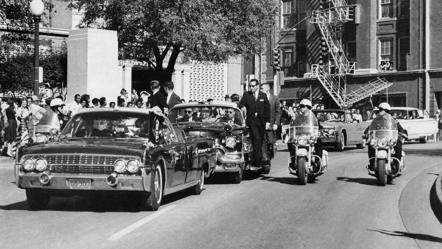 "(AP Photo/James W. ""Ike"" Altgens, File)"