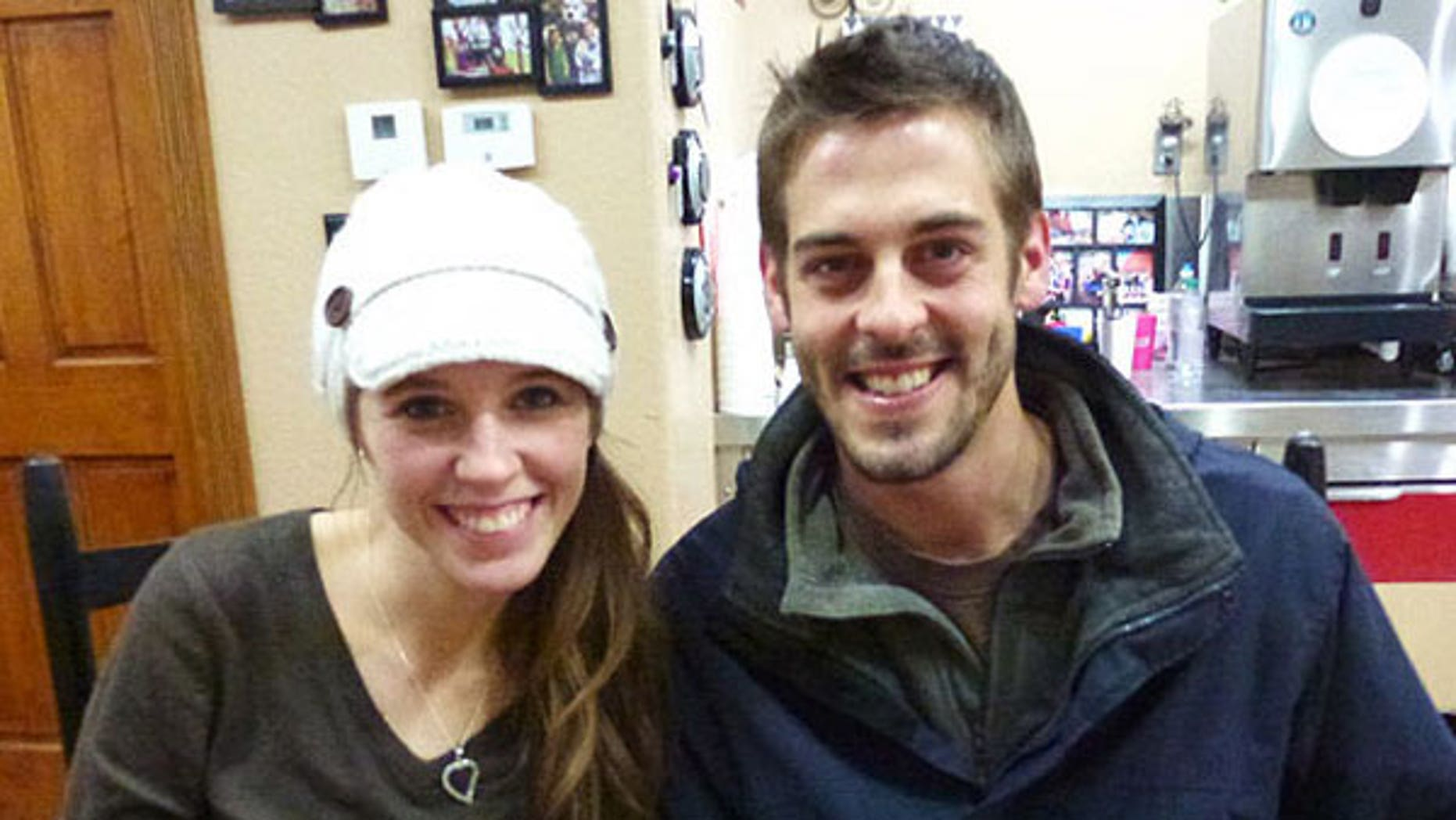 Jill Duggar and Derick Dillard.