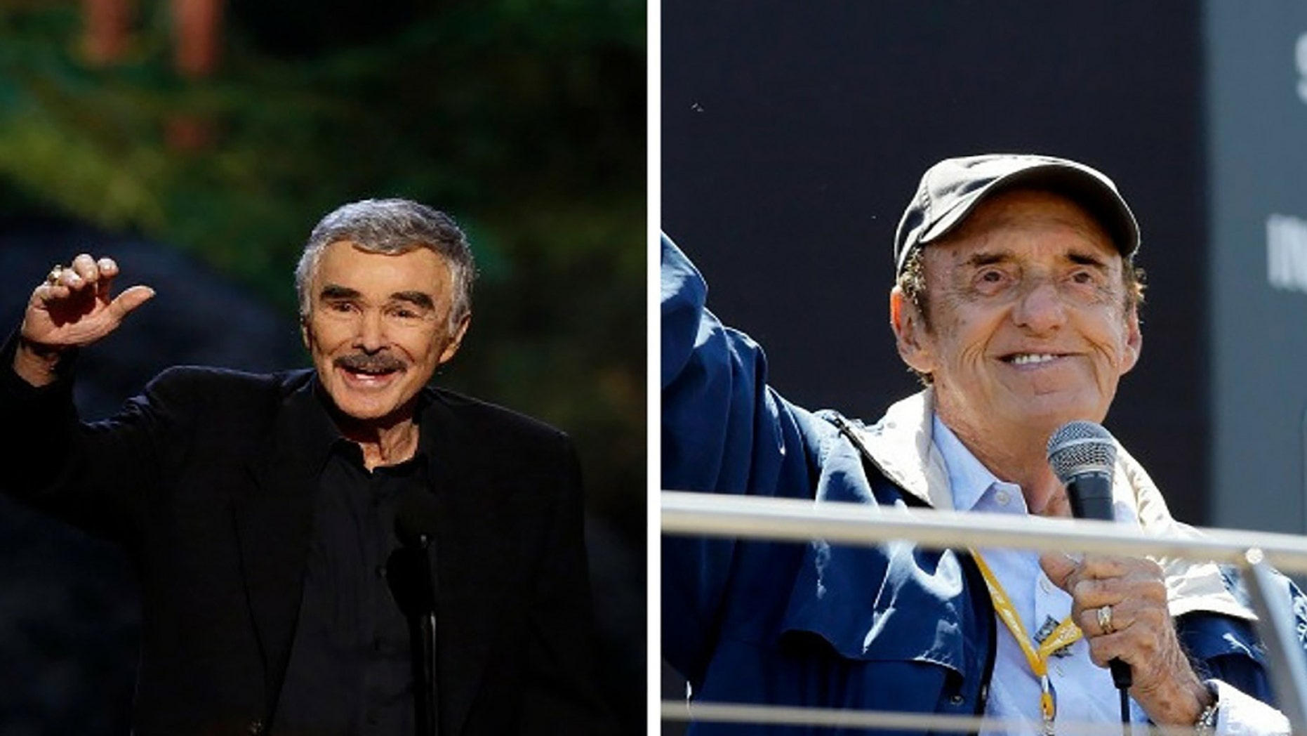 """Burt Reynolds mourned the death of longtime pal Jim Nabors: """"I loved him and so did millions of others."""""""