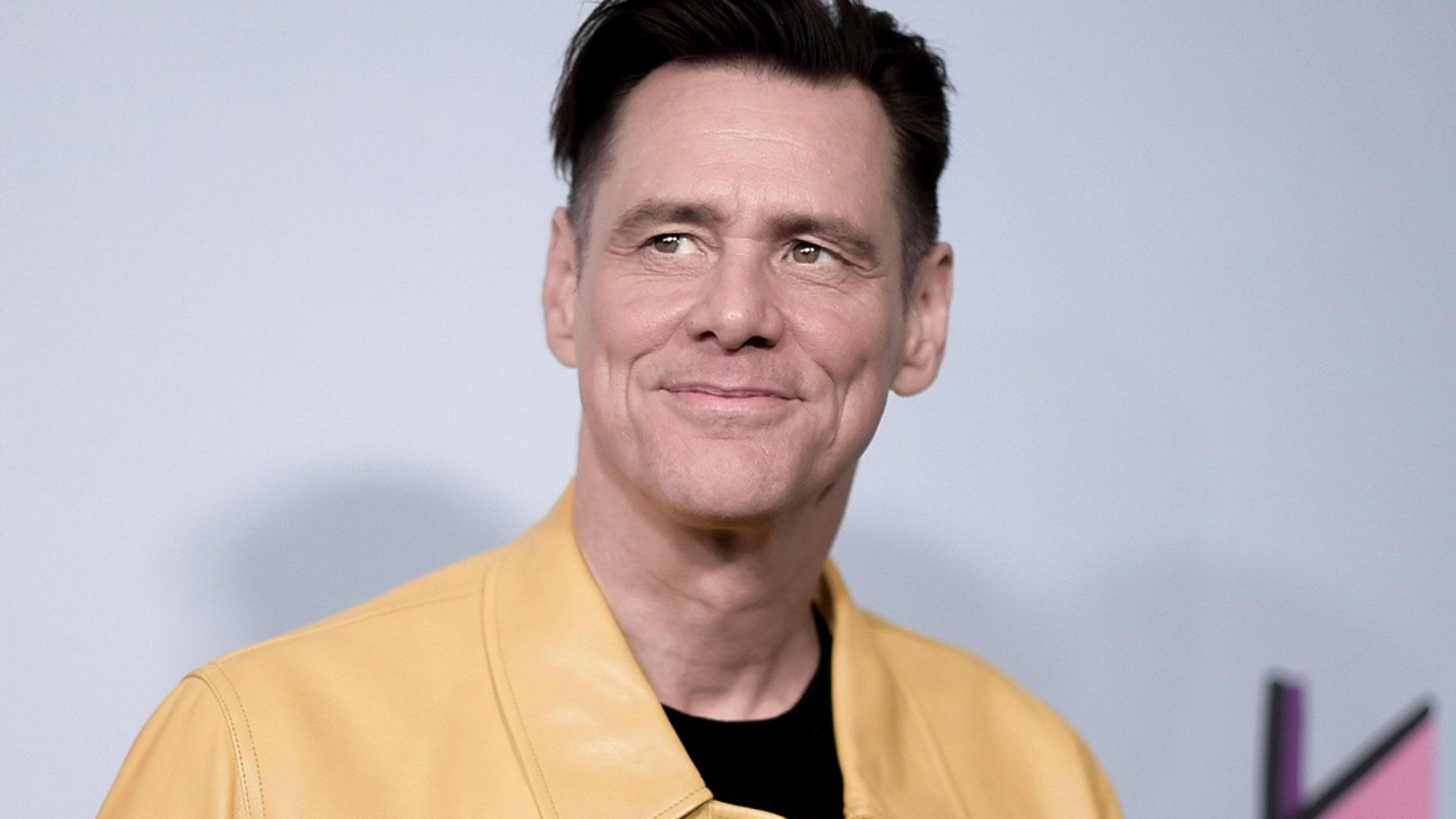 "Jim Carrey attends the LA Premiere of ""Kidding"" at ArcLight Hollywood on Wednesday, Sept. 5, 2018, in Los Angeles."