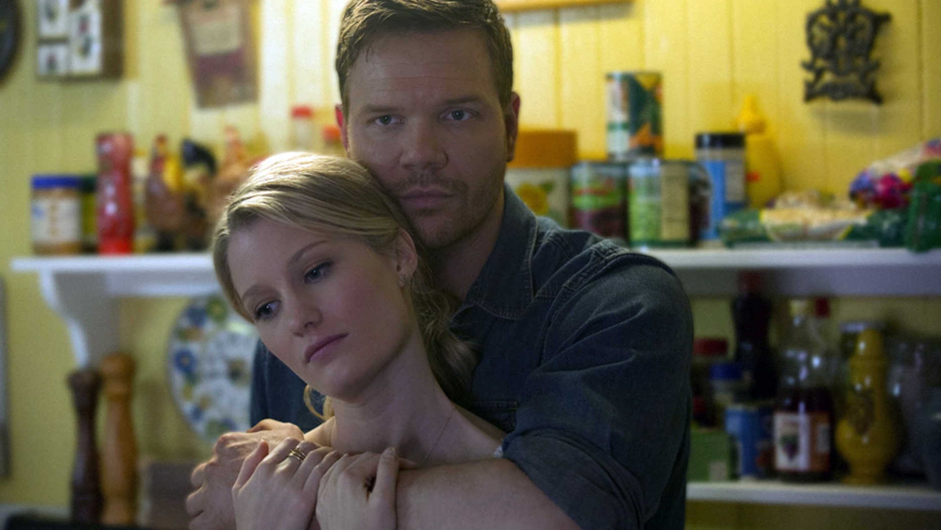 "Ashley Hinshaw and Jim Parrack on HBO's ""True Blood."""