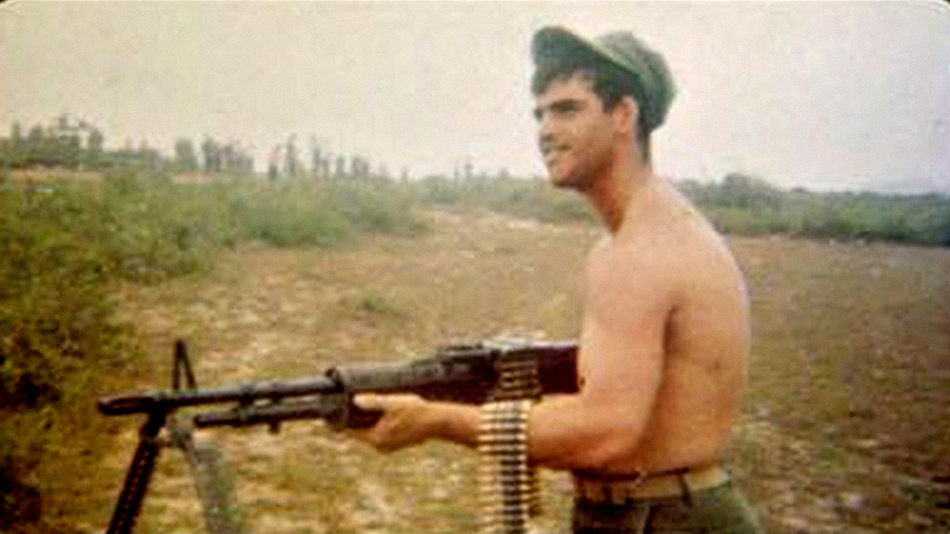 Marine Lance Corporal Jimmy Reddington was killed in Vietnam in 1967.