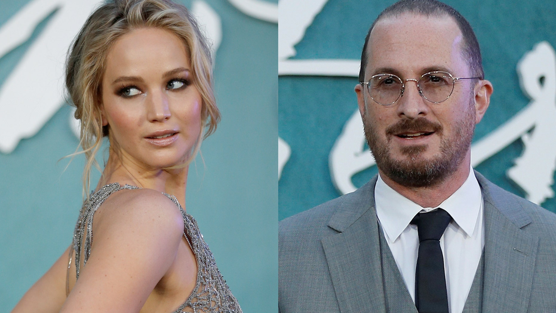 """Jennifer Lawrence reunited with her """"Mother!"""" director and ex Darren Aronofsky at the annual BAM Gala on May 30, in New York City."""