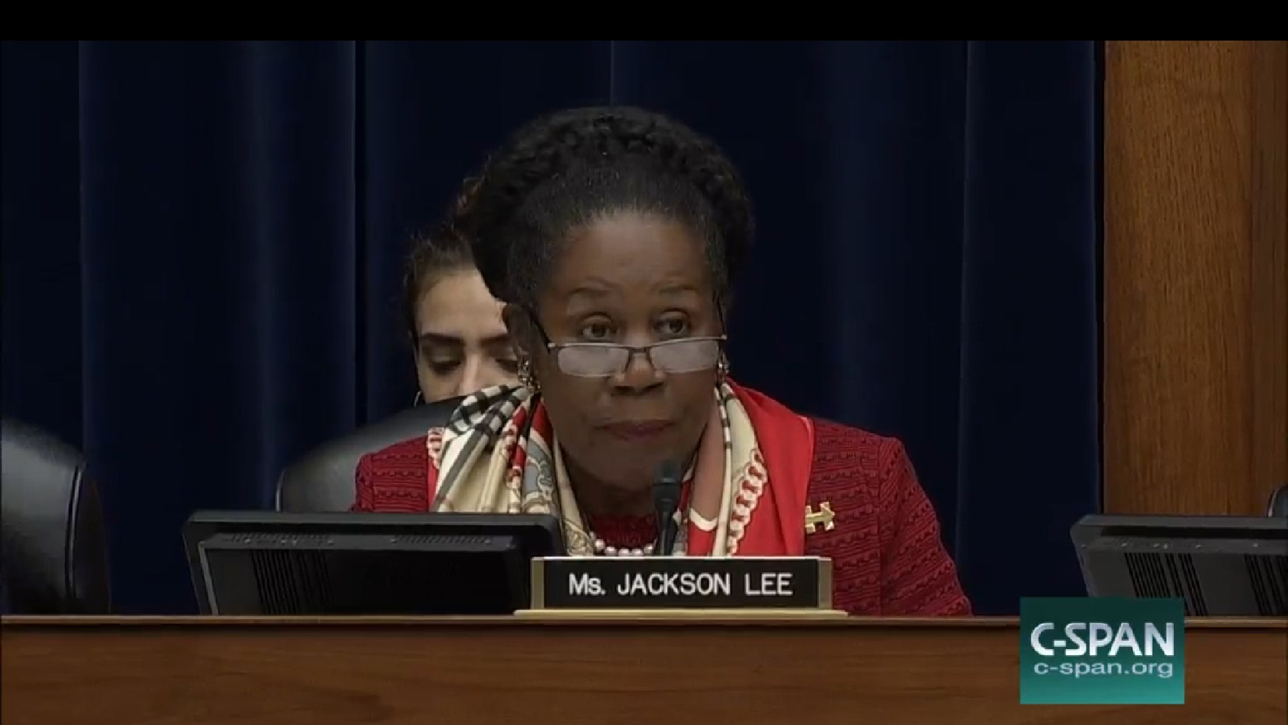 Sept. 28, 2016: Rep. Sheila Jackson Lee speaks at a House Judiciary Committee hearing.