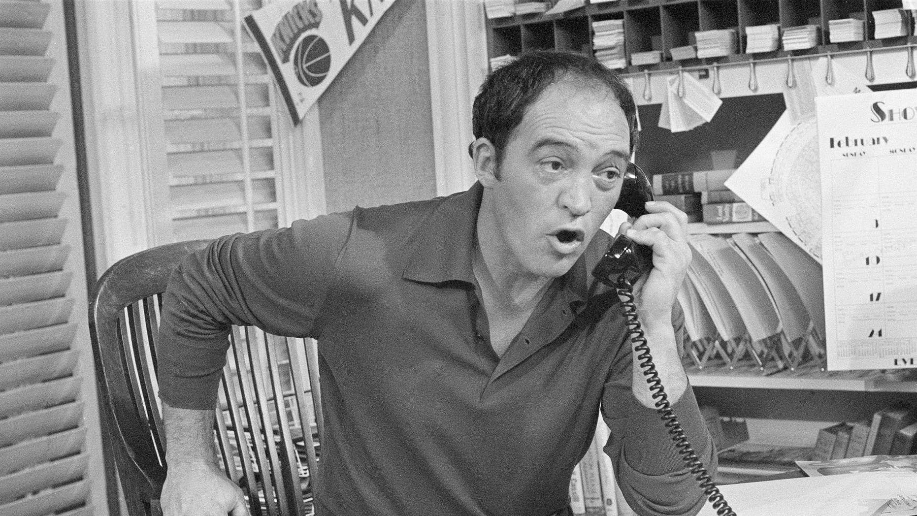 """In this March 18, 1980 file photo, actor Joe Santos appears on the set of the NBC-TV comedy series """"Me and Maxx,"""" in Los Angeles. AP"""